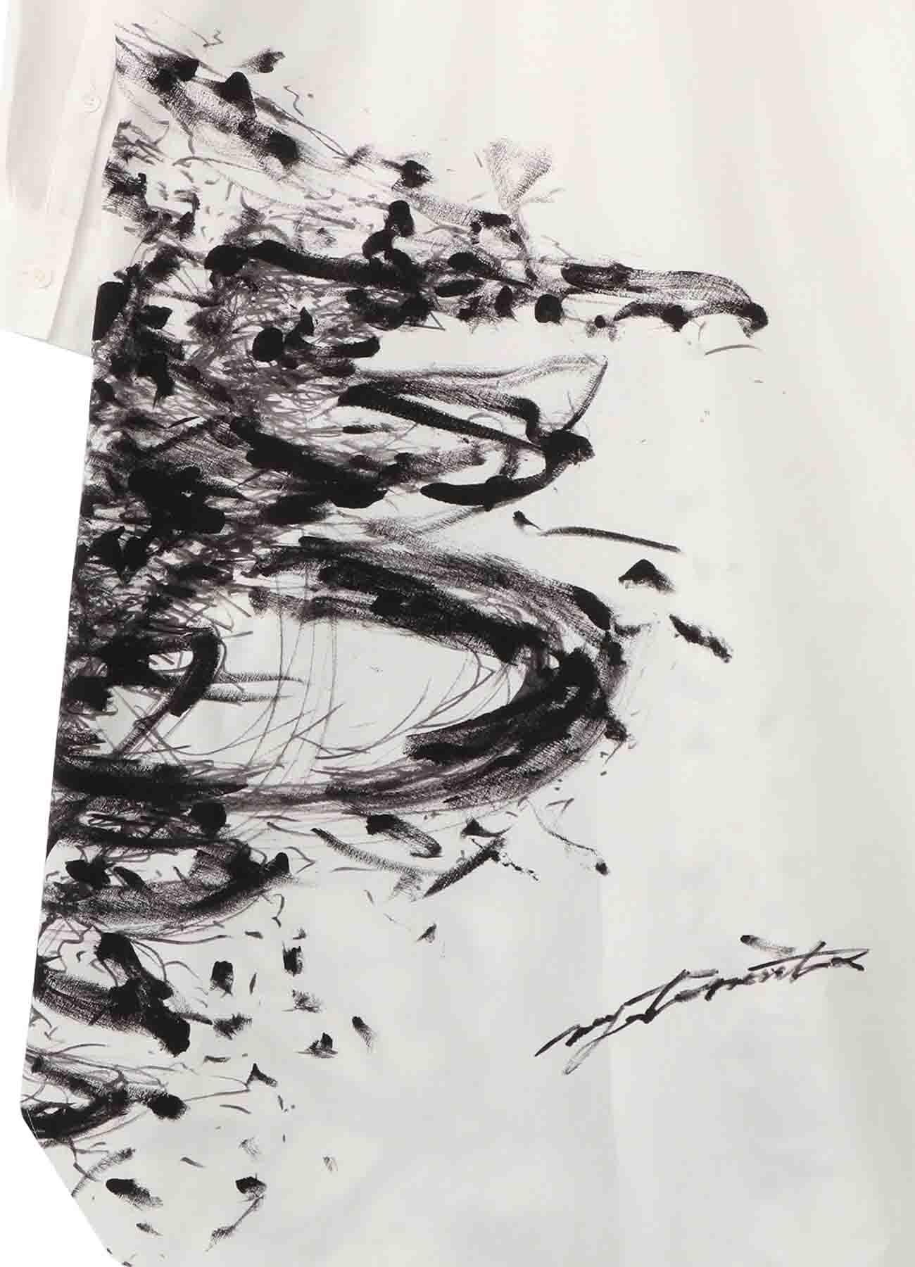 <発売日調整中> [Art drawing] Graphic Long Shirt by 森田美勇人