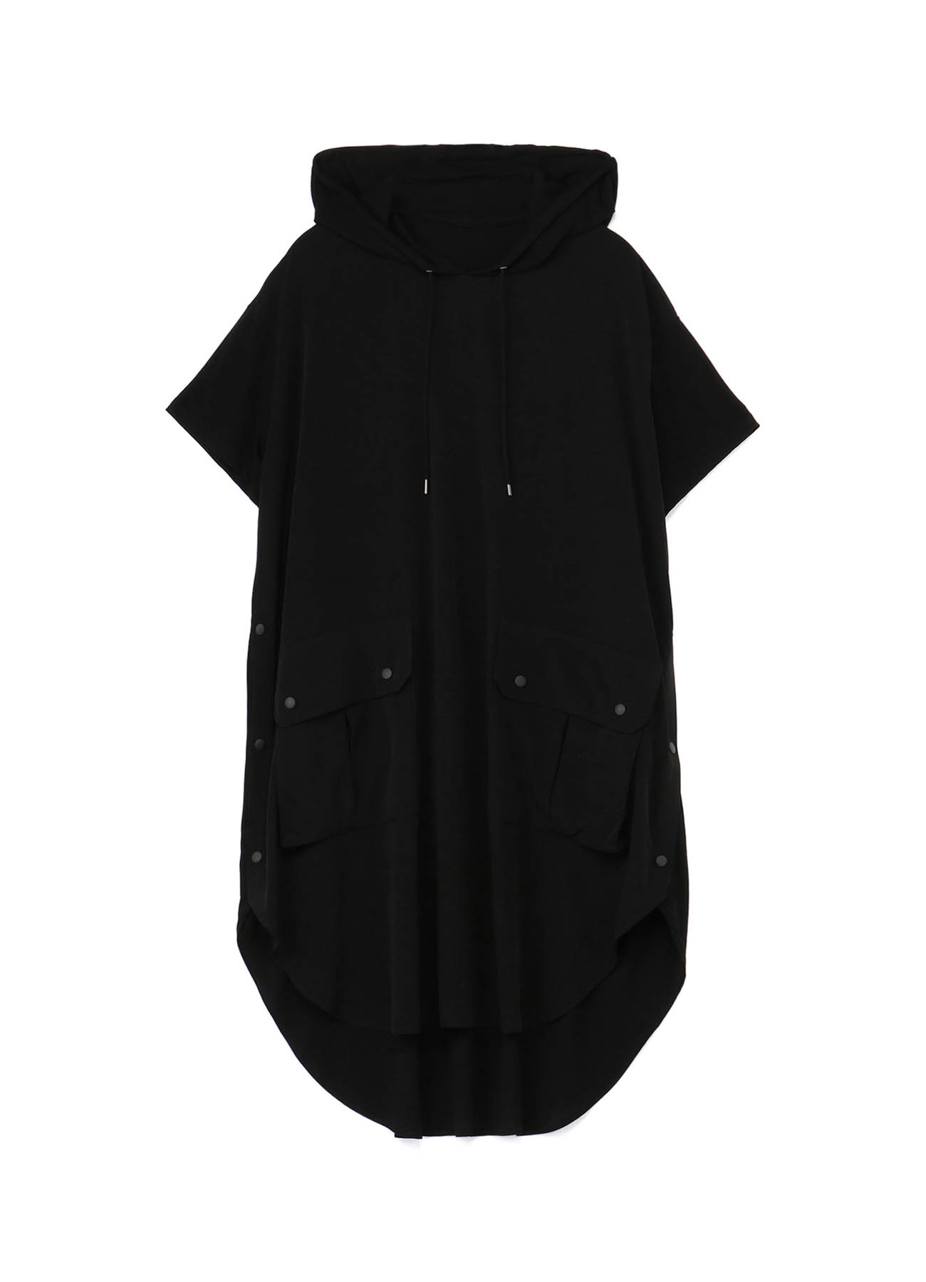 Big Hood Short Sleeves Dress