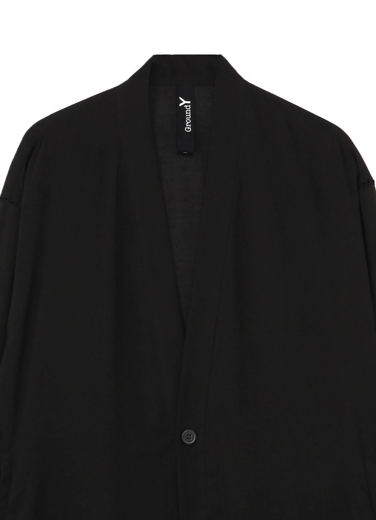 Tencel Lawn One Button Cardigan