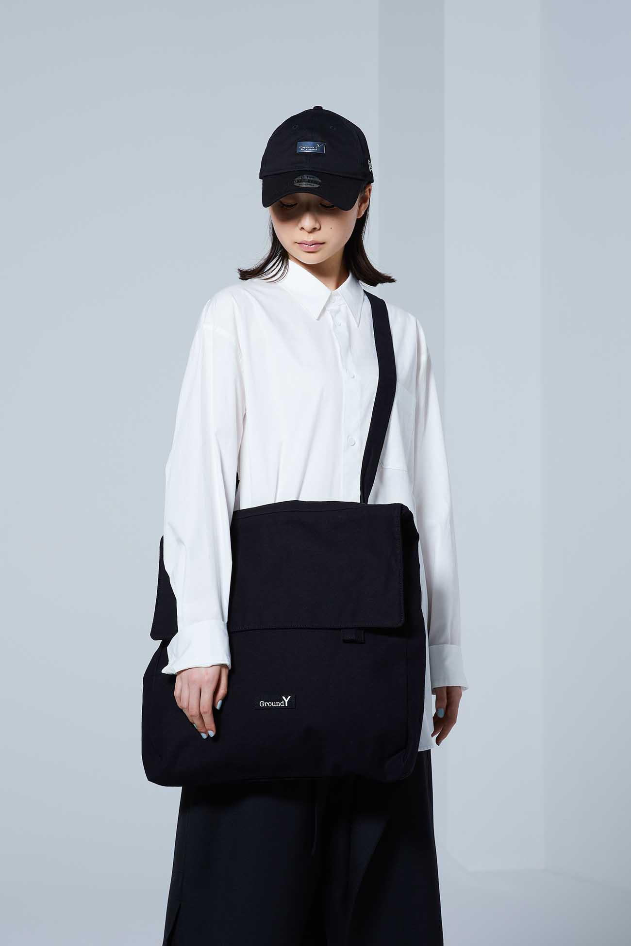 Cotton Canvas Flap Pocket Bag