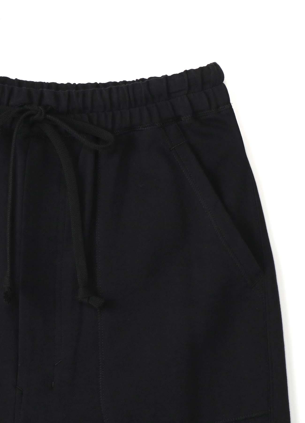Mini Fleece Pile Sweat Rib Pants