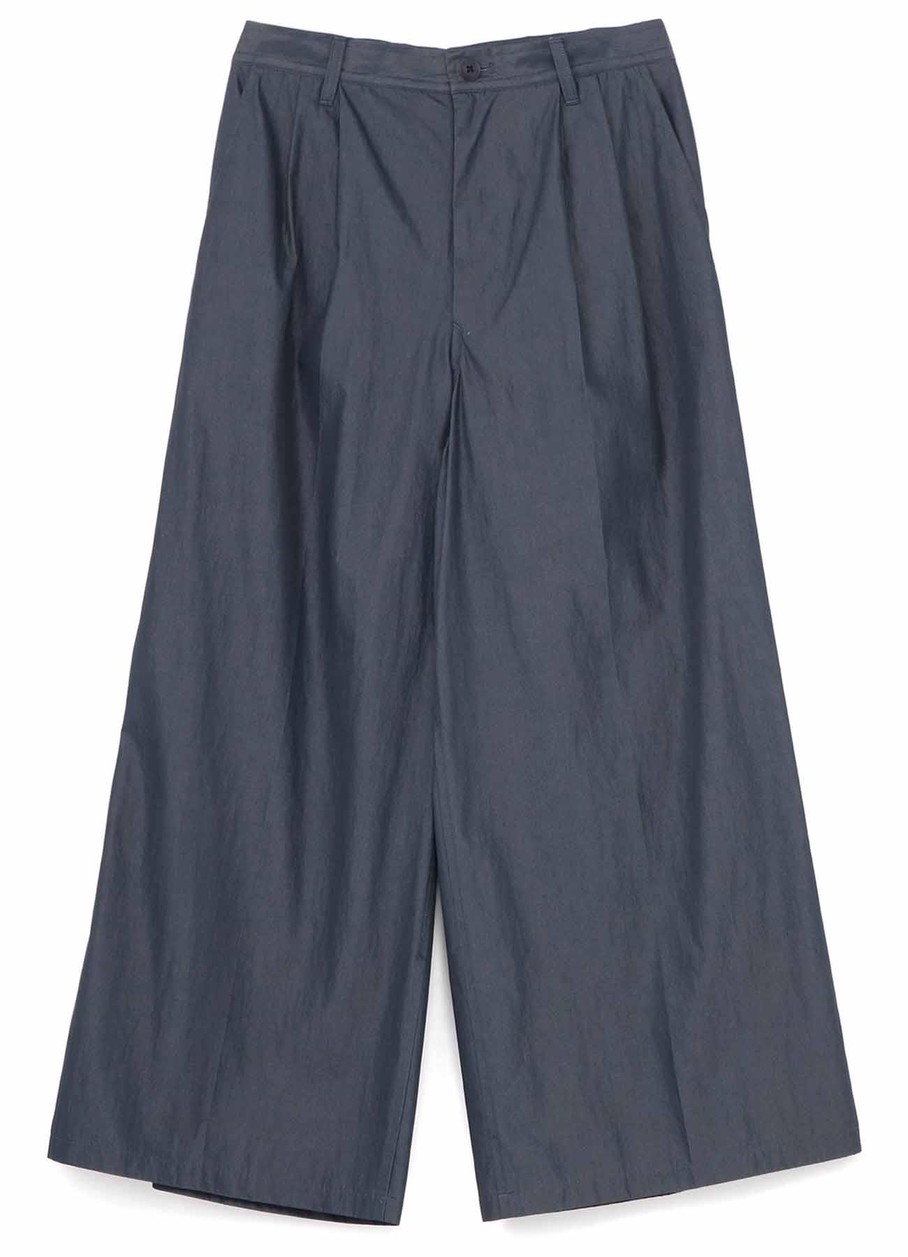 C/Ny Twill Tuck Wide Pants