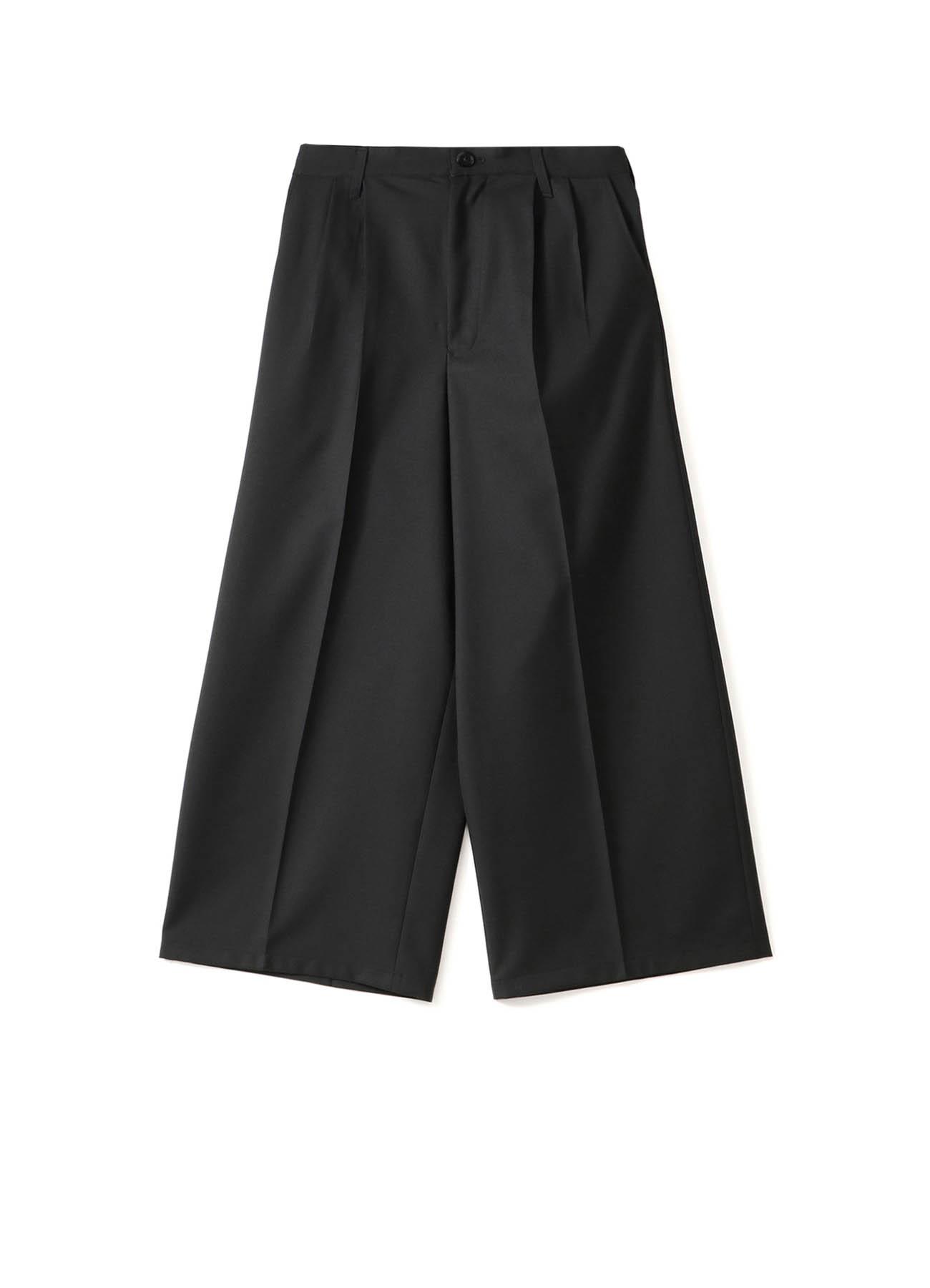 T/W Gabardine Tuck Wide Pants