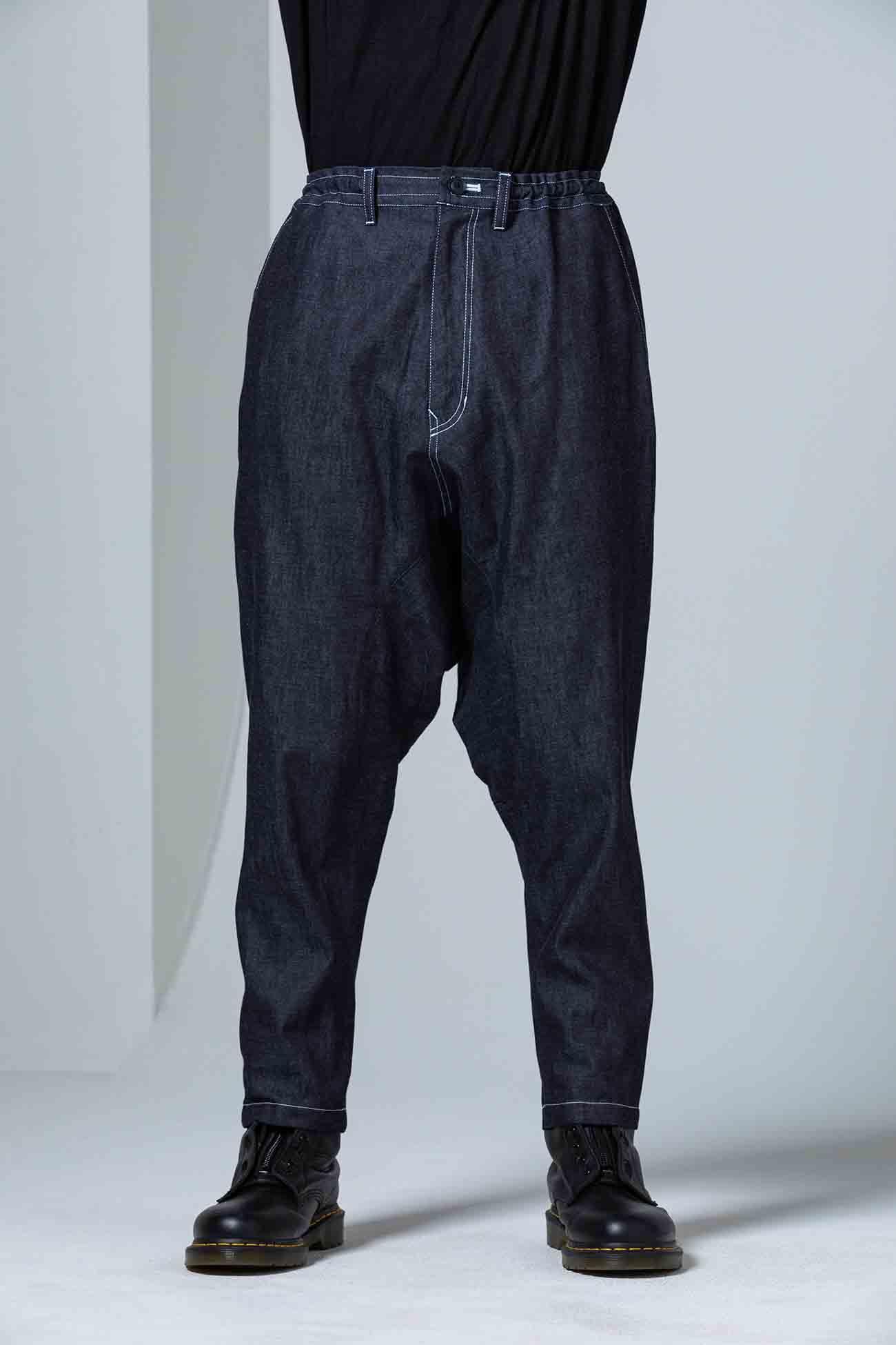 6oz Denim Deep Sarrouel Pants