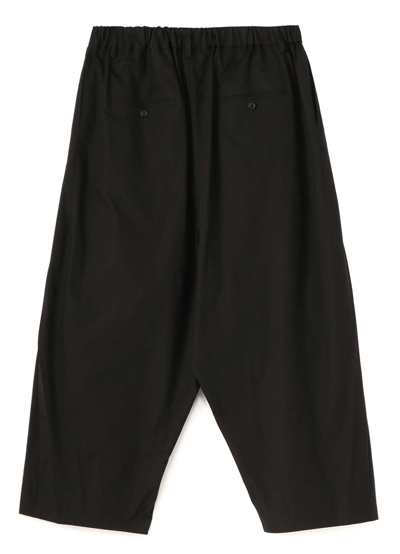 40/2 Cotton Broad Front Pleated Pants
