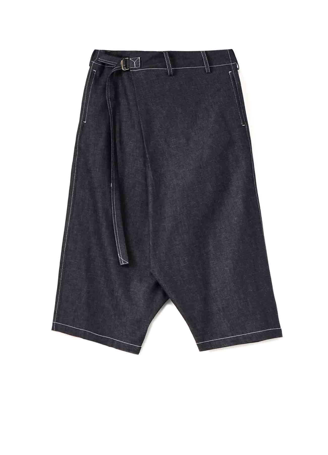 6oz Denim Wrap Short Pants