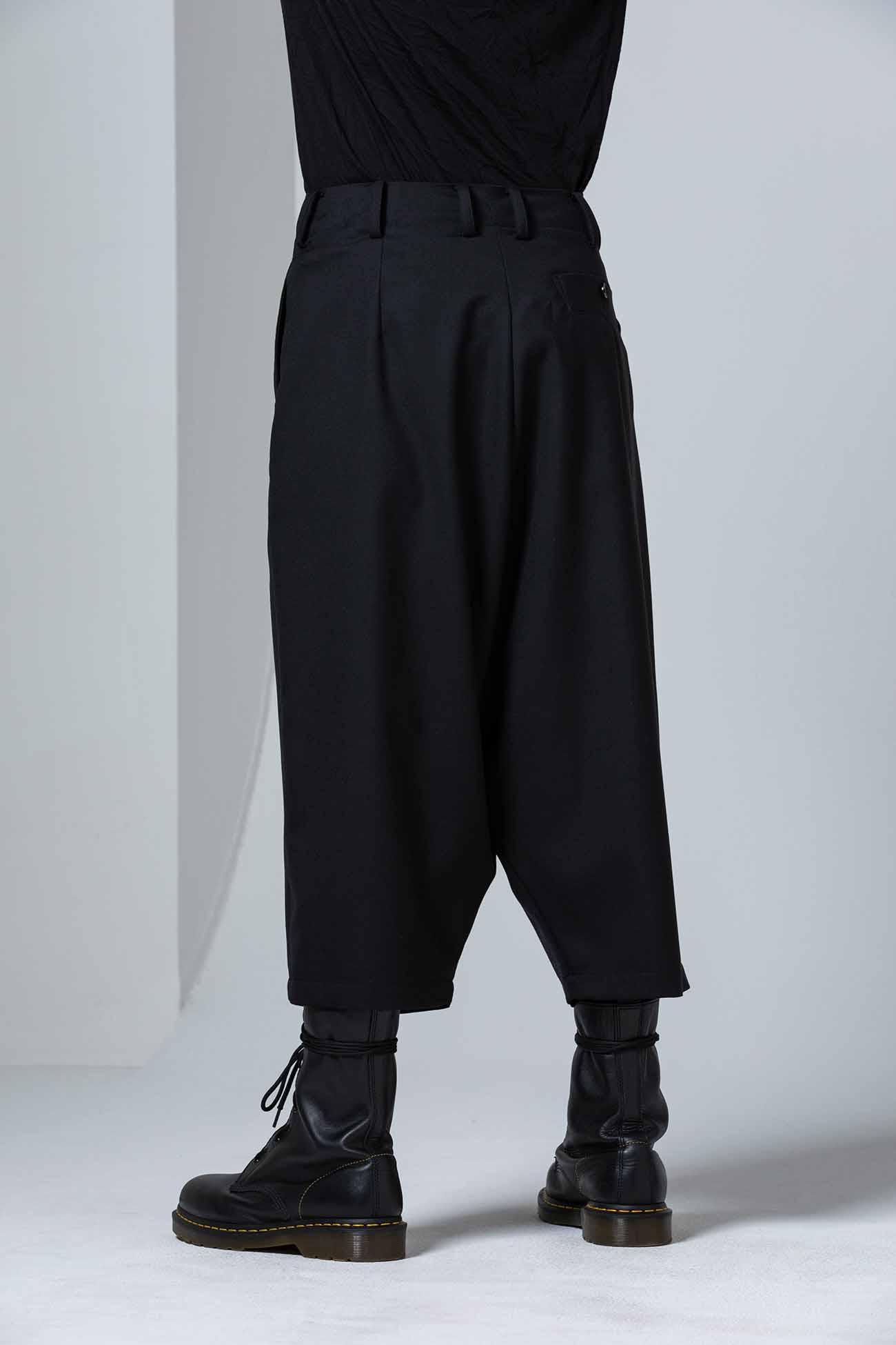 T/W Gabardine Wrap Short Pants