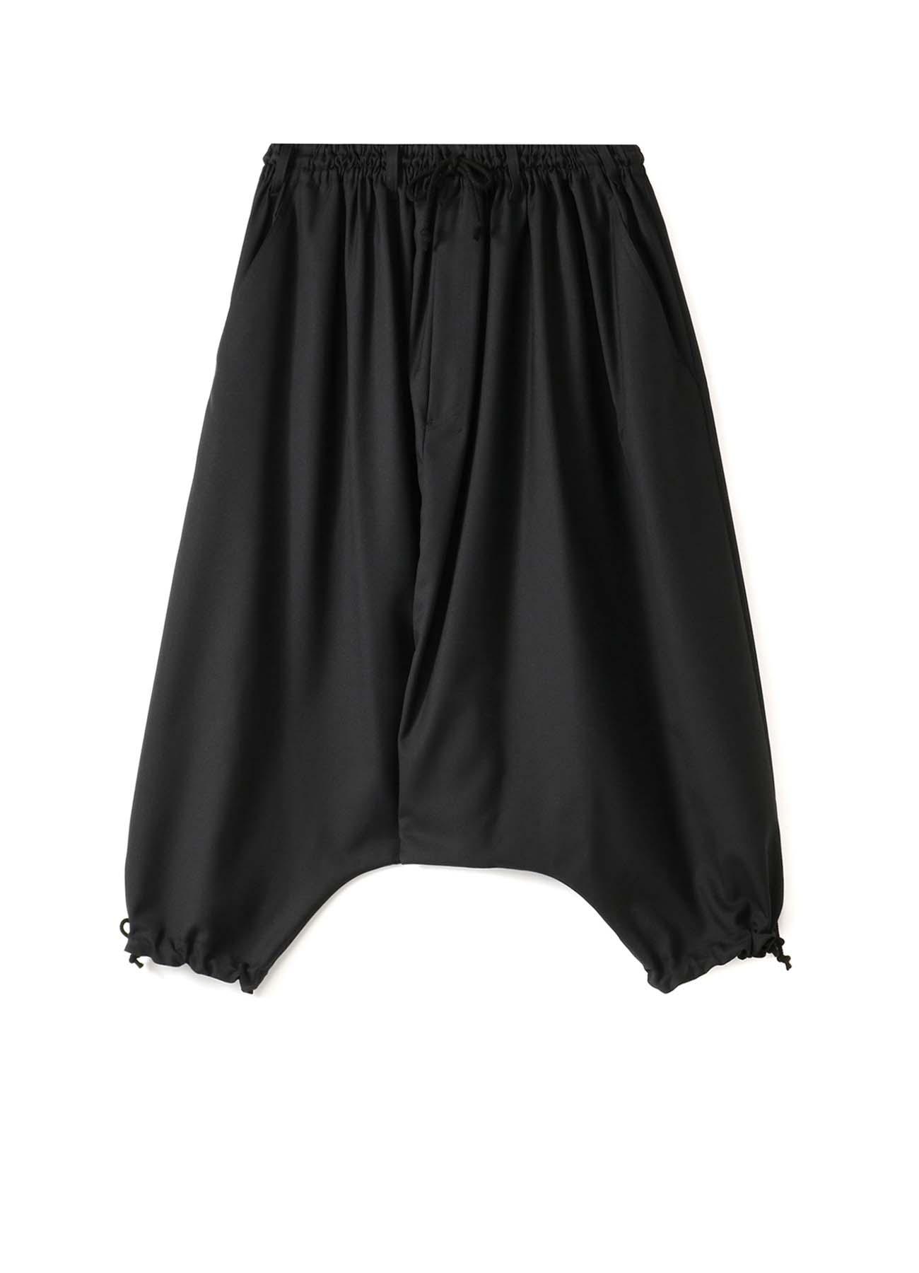 T/W Gabardine Drawstring Sarrouel Pants