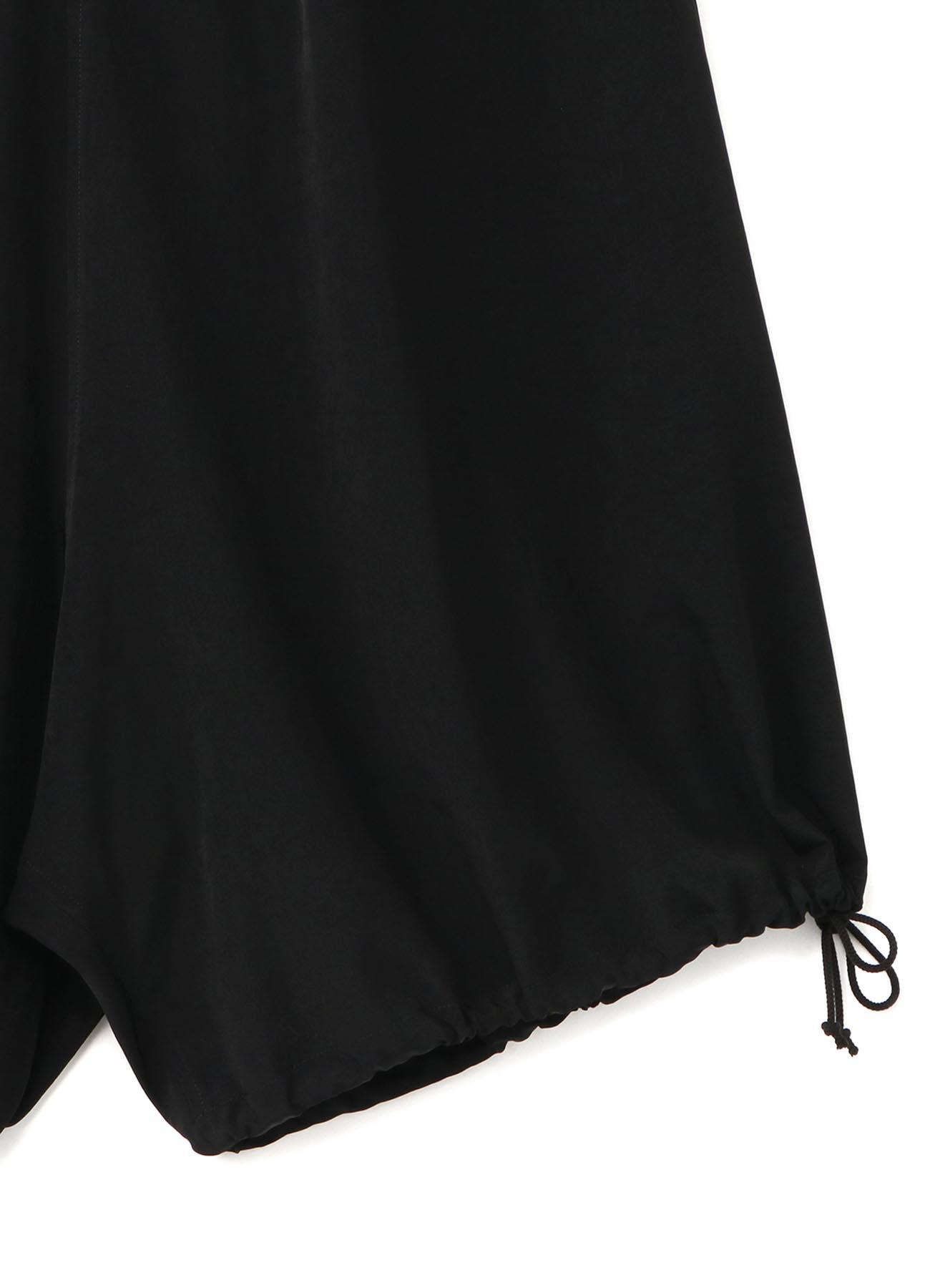 Vintage Decyne Drawstring Asymmetry Pants