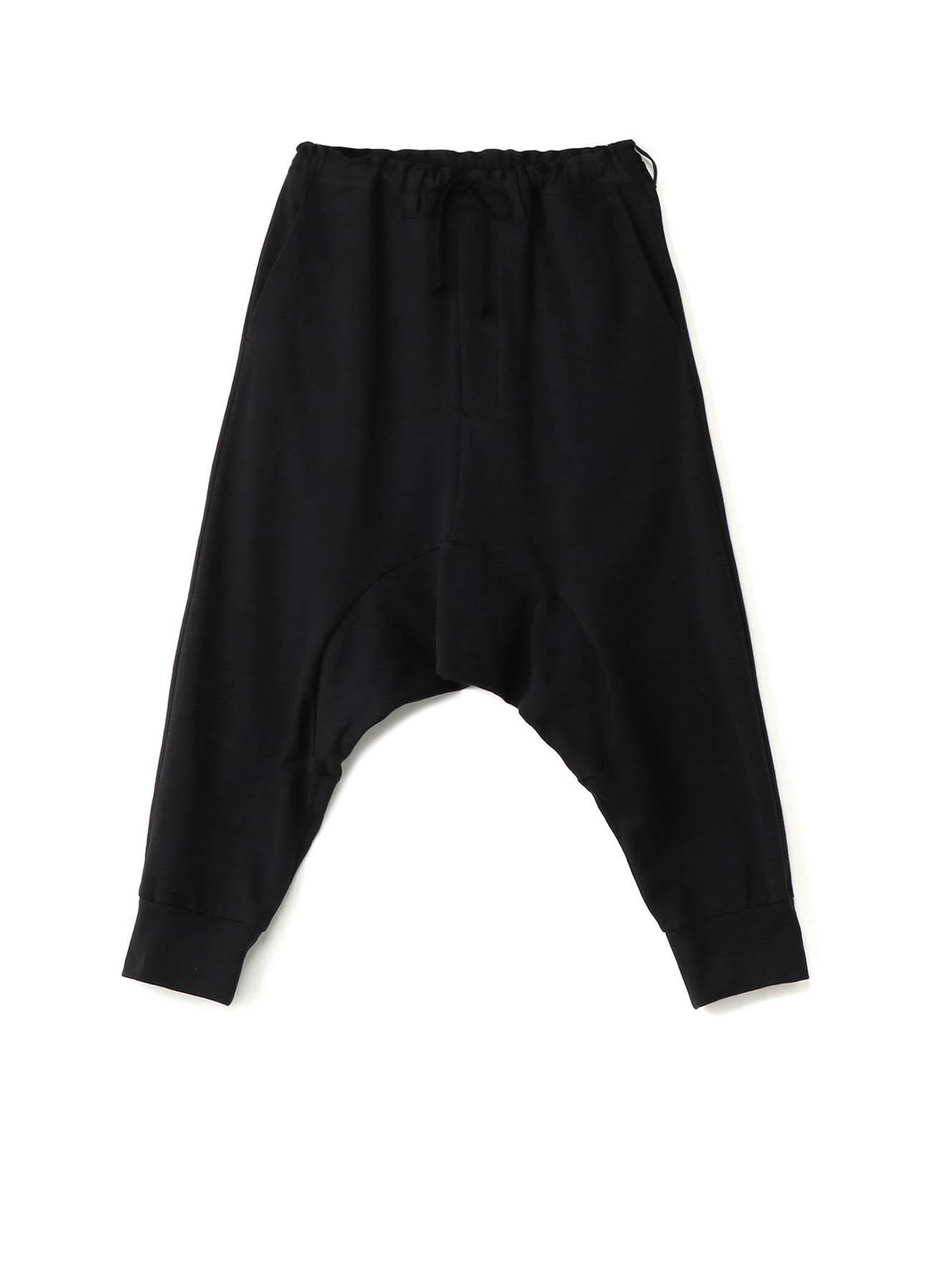 Mini Fleece Pile Deep Sarrouel Sweat Pants
