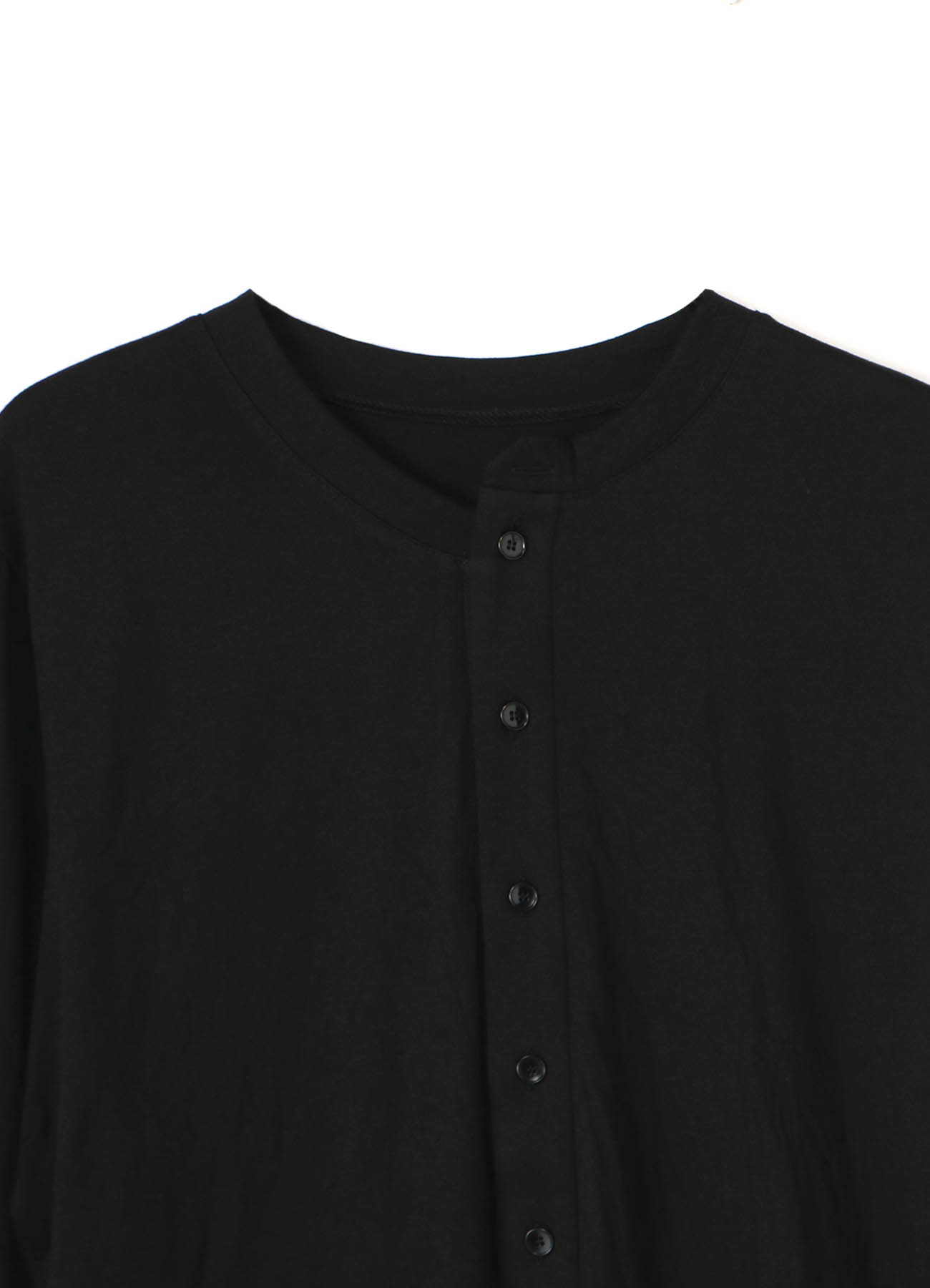 C/Pe Washer Jersey Henley Neck Long Cut Sew