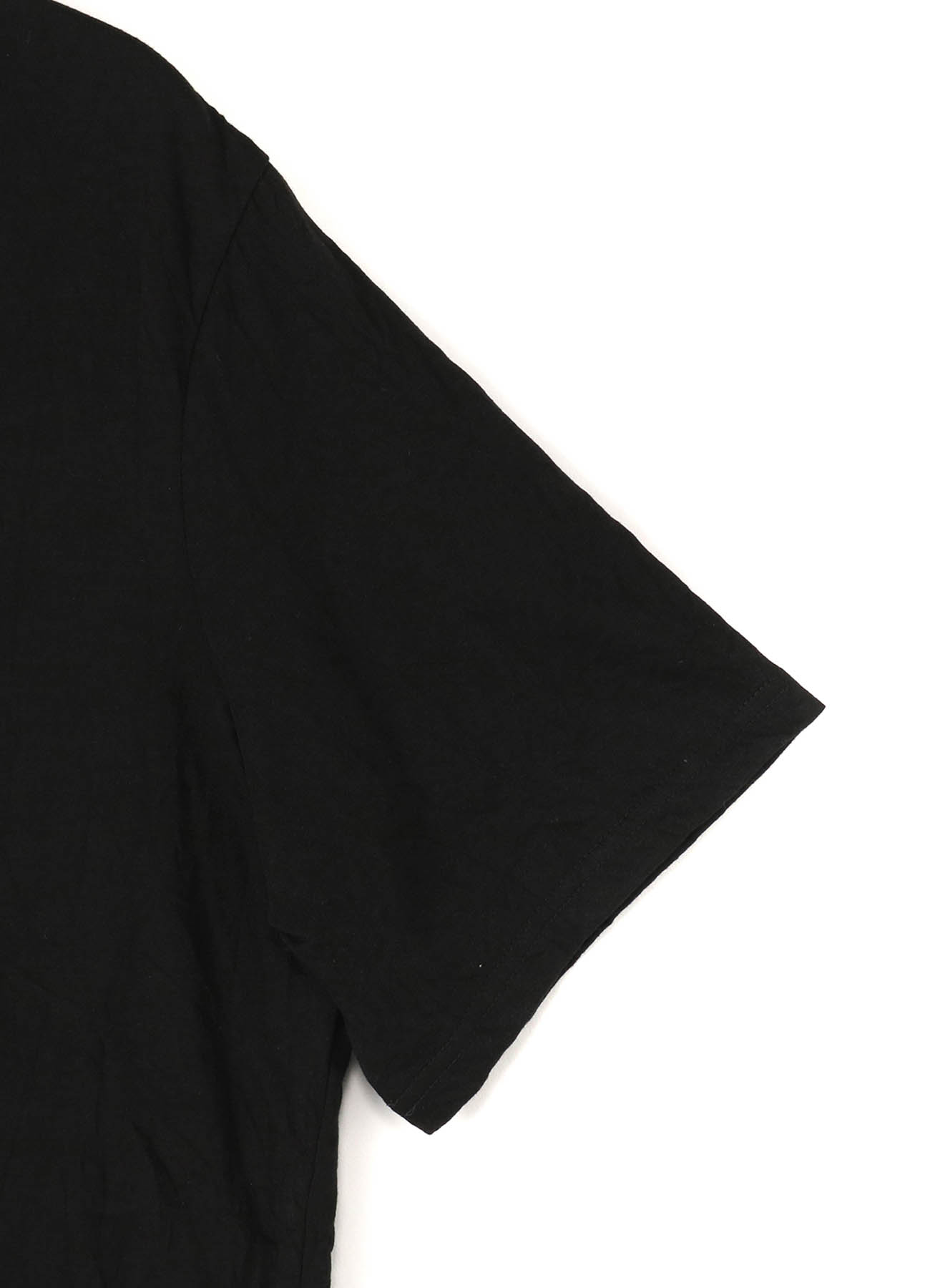 C/Pe Washer Jersey Henley Neck Short Sleeves Long Cut Sew