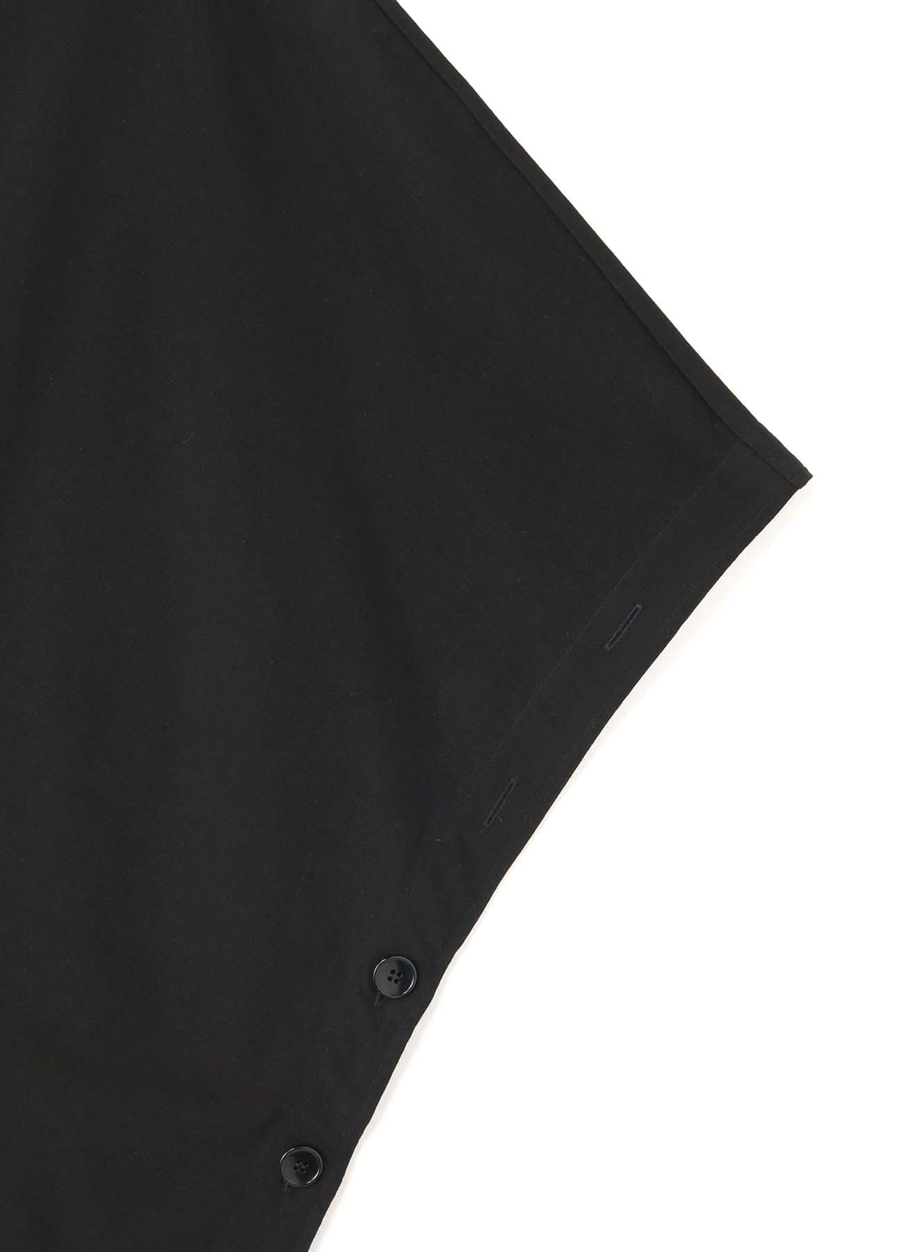 30/Cotton Jersey Big Poncho Cut Sew