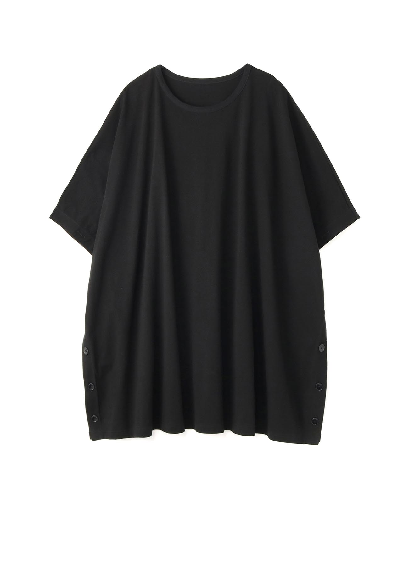 30/Cotton Jersey Big Poncho Cut Sew
