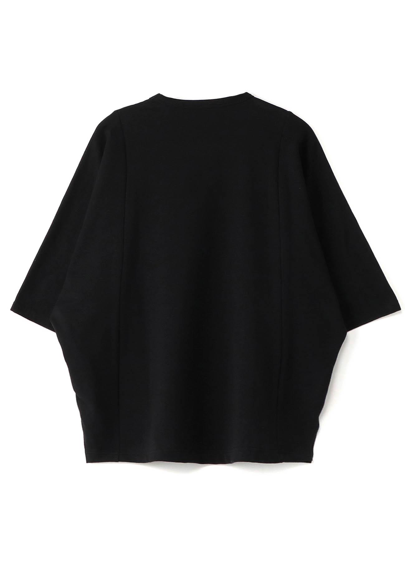 Mini Fleece Pile Three-Quarter Sleeves Big Cut Sew