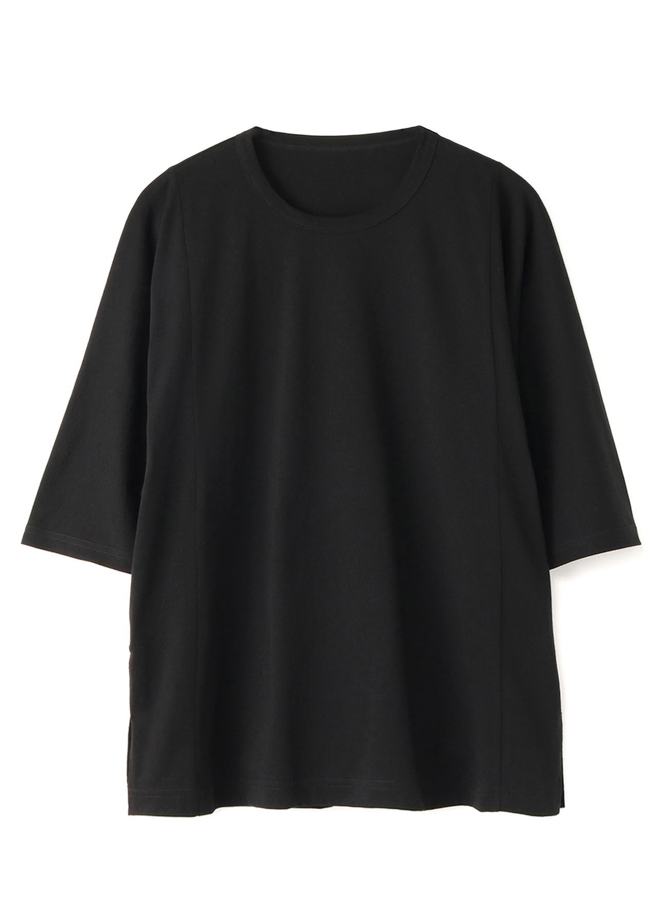 30/Cotton Jersey Three-Quarter Sleeves Cut Sew