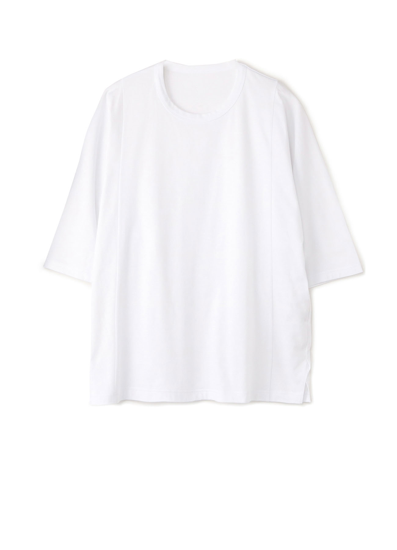 30/Cotton Jersey Three-Quarter Sleeves Cut Sew
