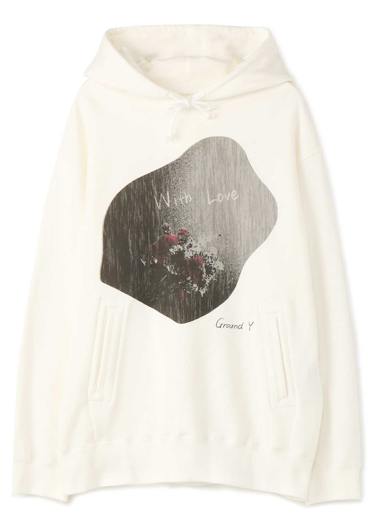 [Flower] Graphic Hoodie by 横田ひかる