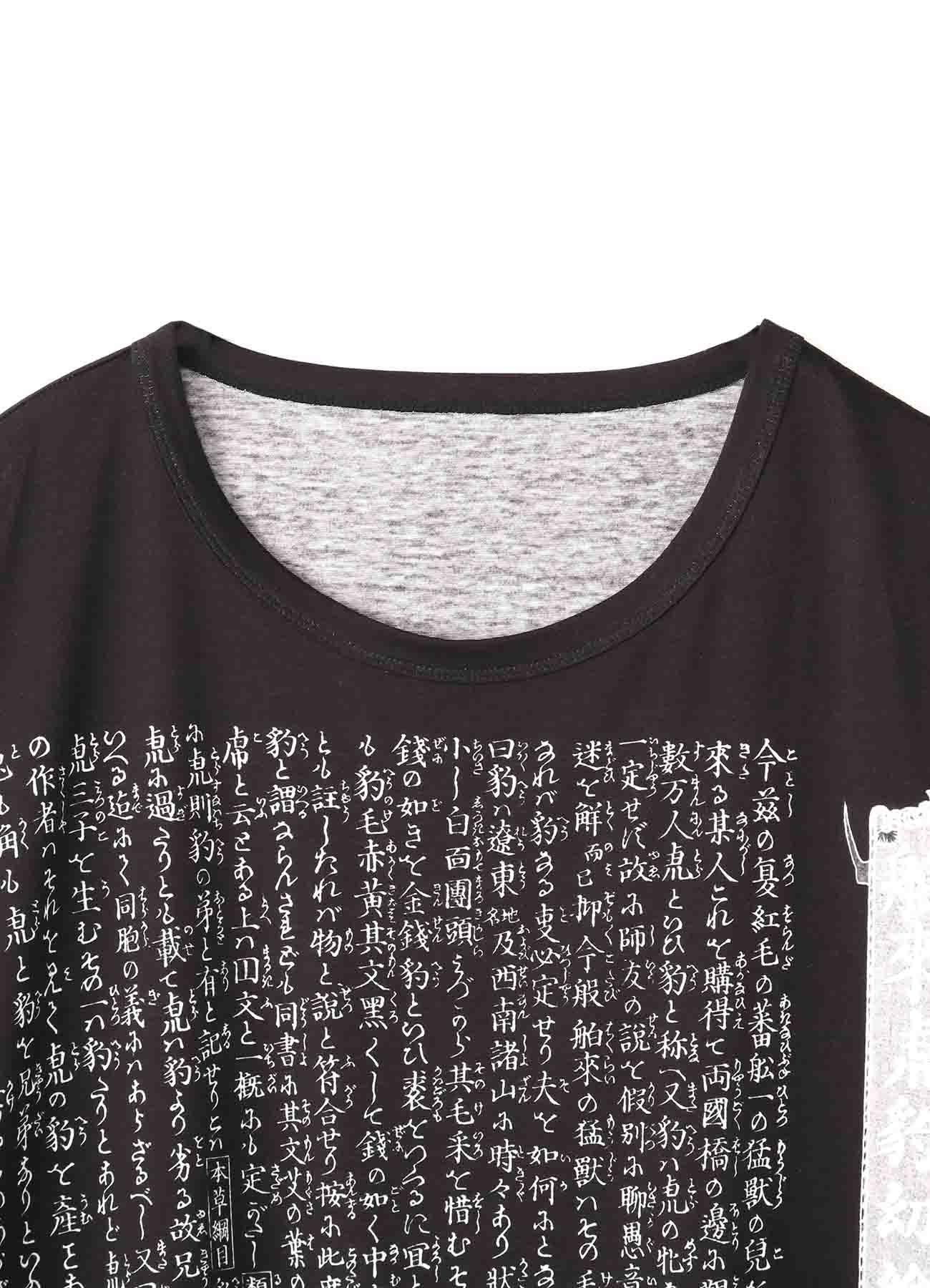 河鍋暁斎「舶来虎豹幼絵説」 Jumbo Cut Sew