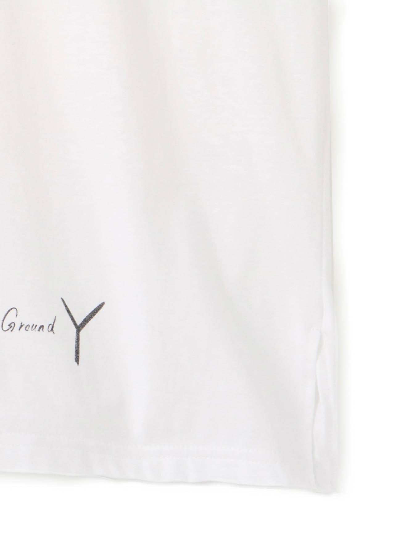 [Reborn] Graphic T white by 黒羽麻璃央