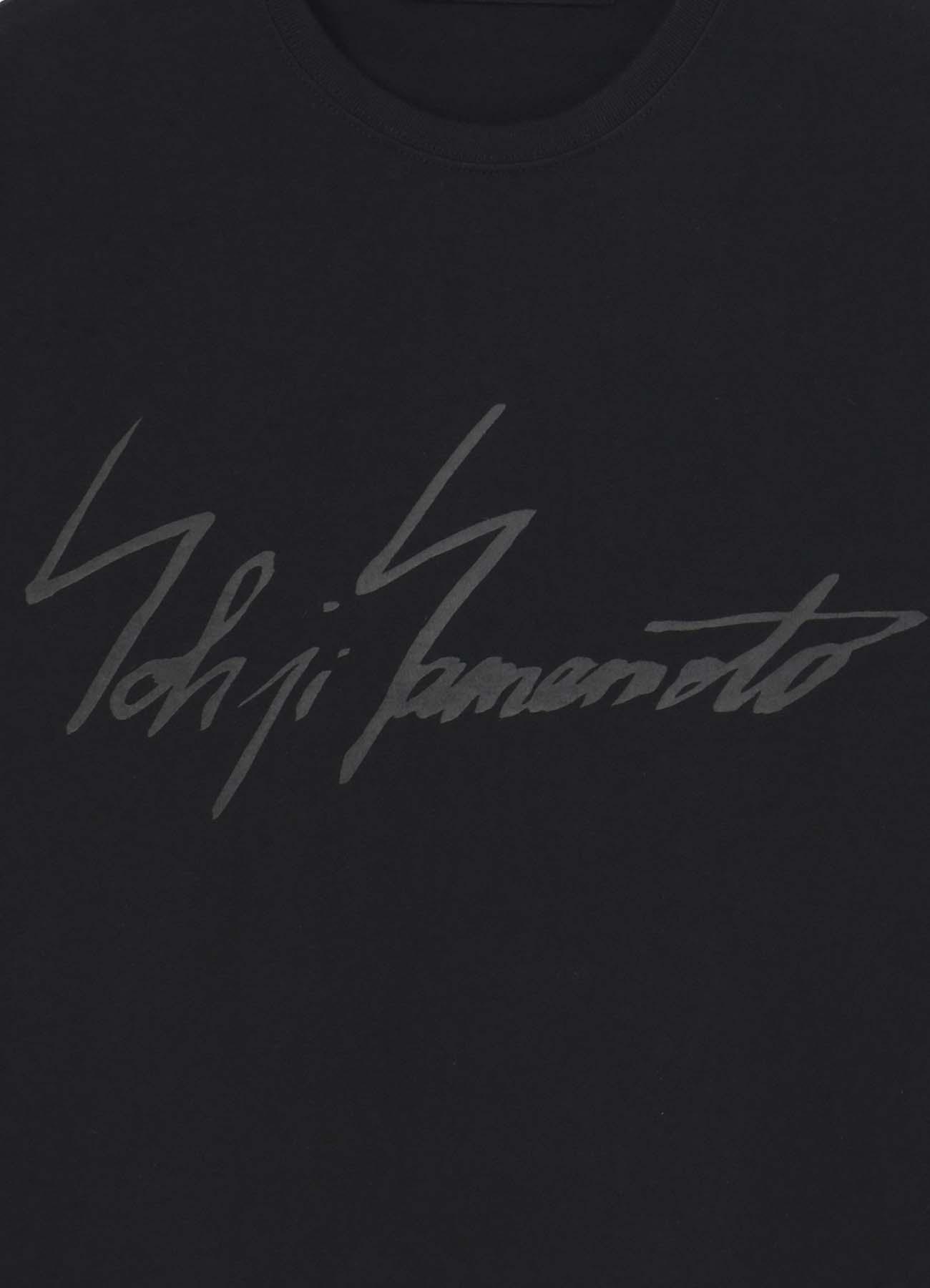 【ONLINE LIMITED】Yohji Yamamoto Handwriting Logo Tshirt