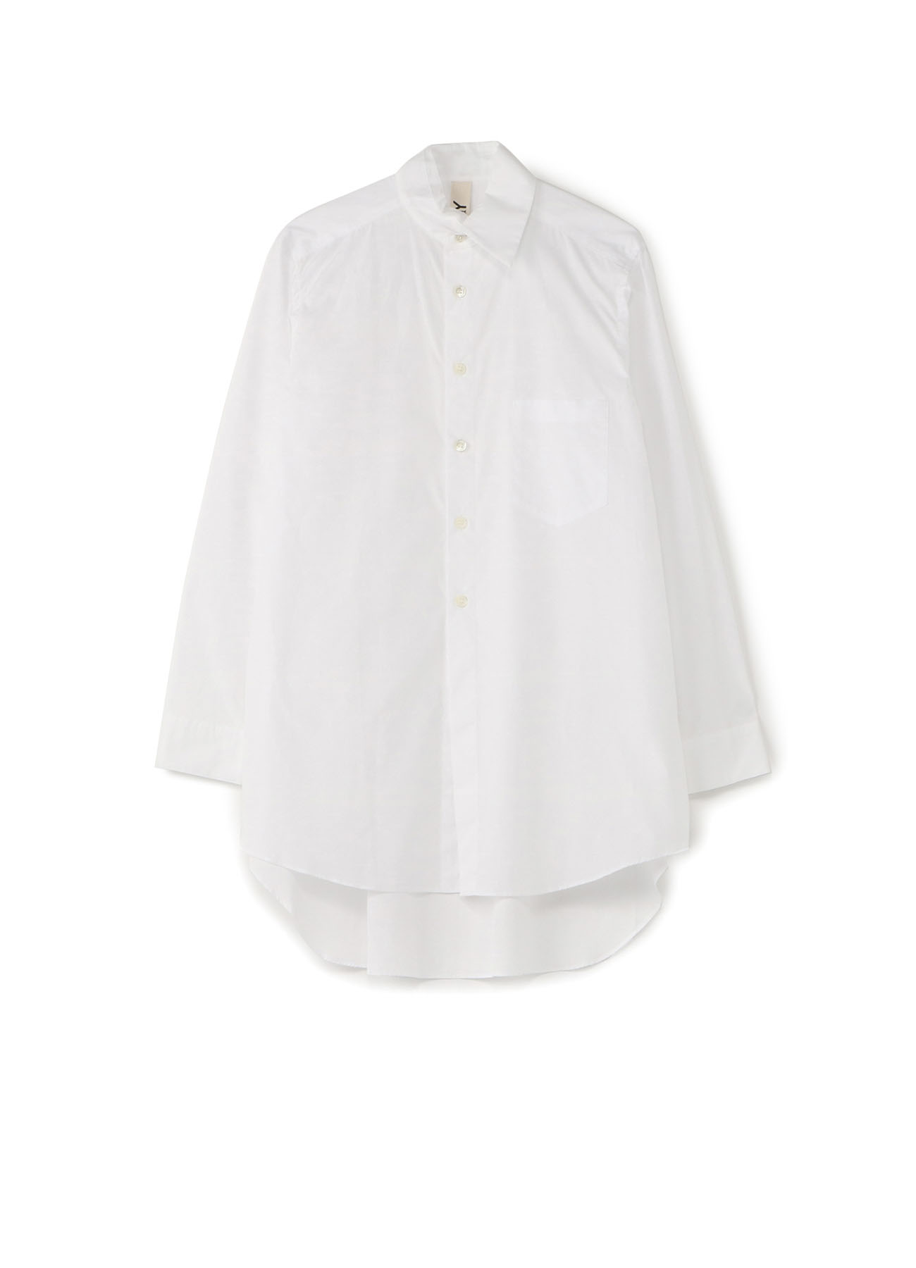 Cotton/ Broadcloth Slit Collar Shirt