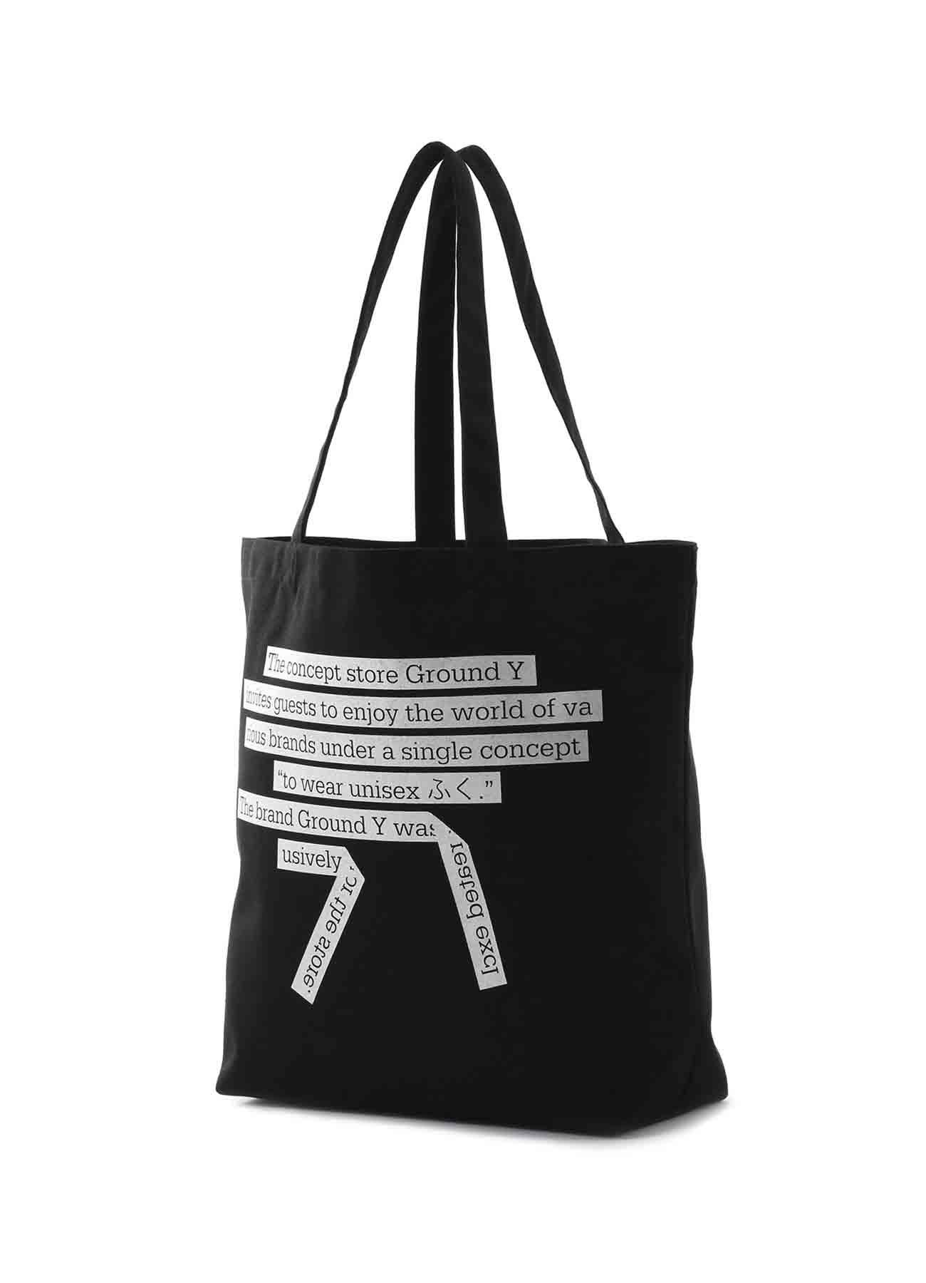 5.0オンス コンセプトグラフィックトートバッグ