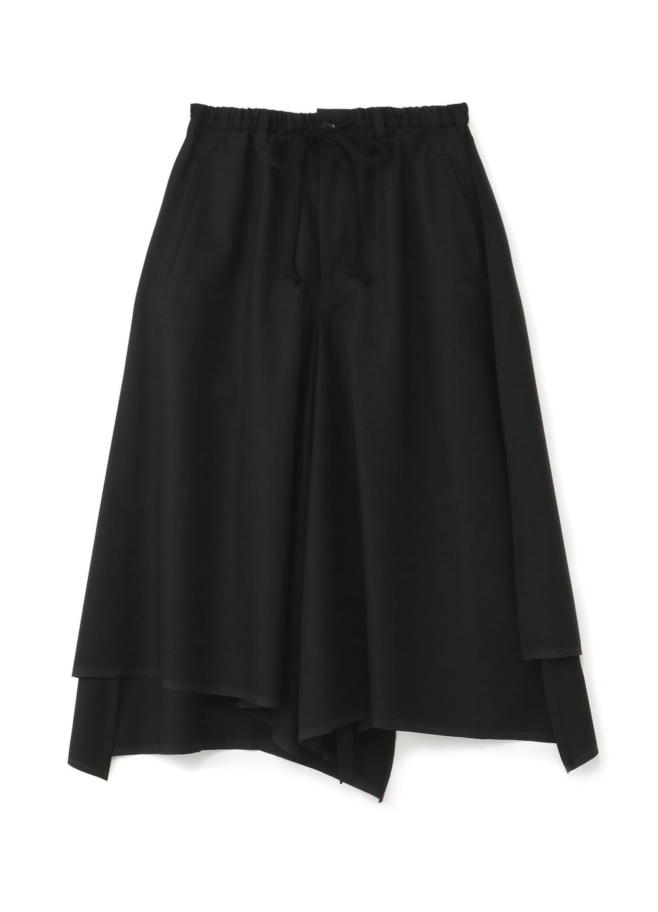 经典层叠裙摆裤裙