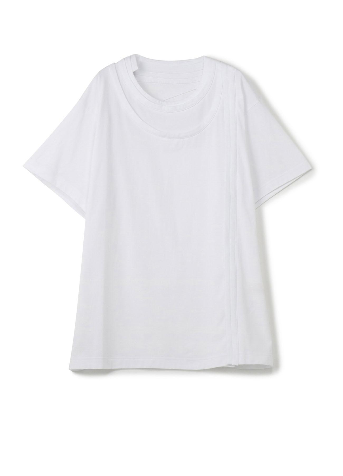 30 / Cotton Plane Stitches String大号T恤短袖