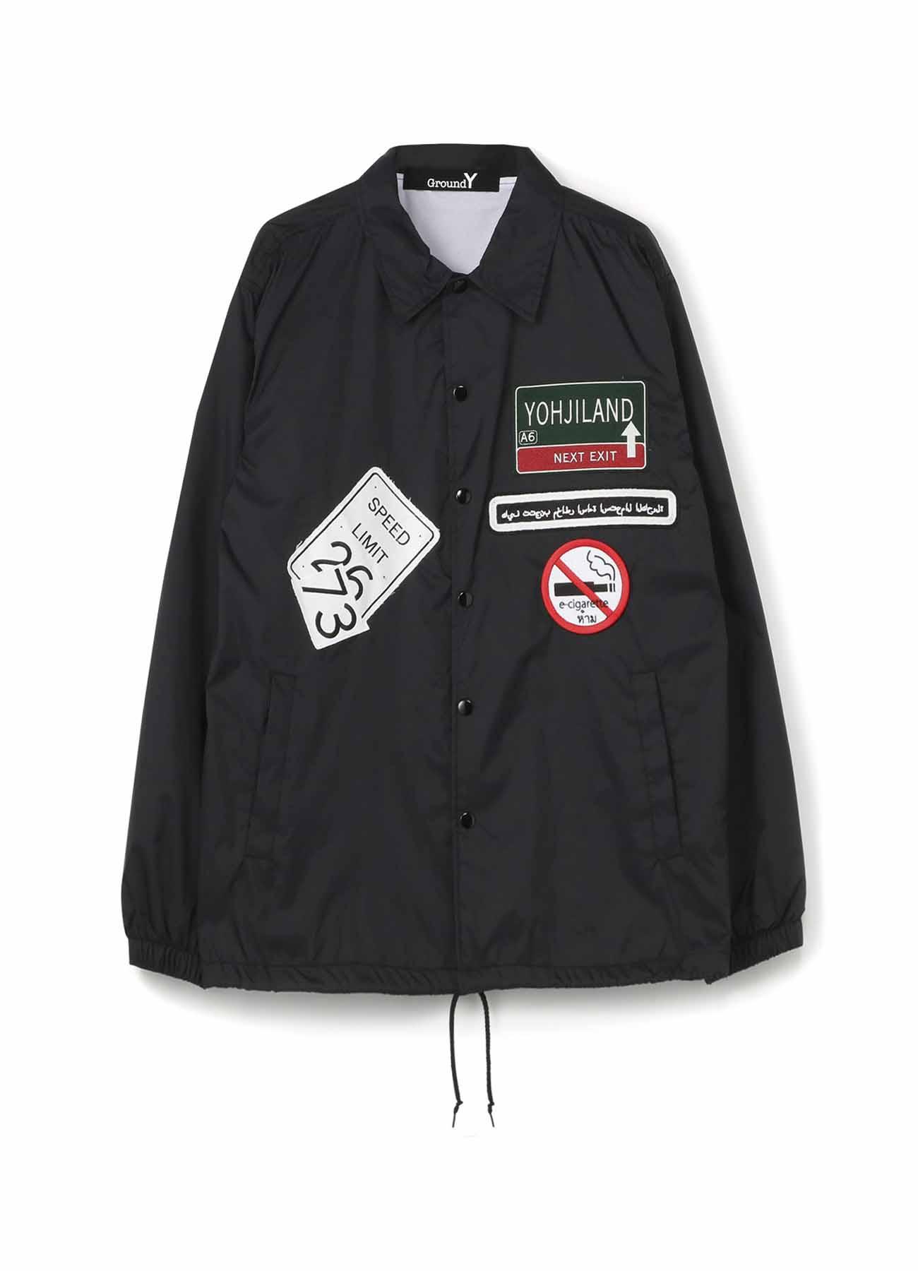 Wappen Nylon Coach Jacket