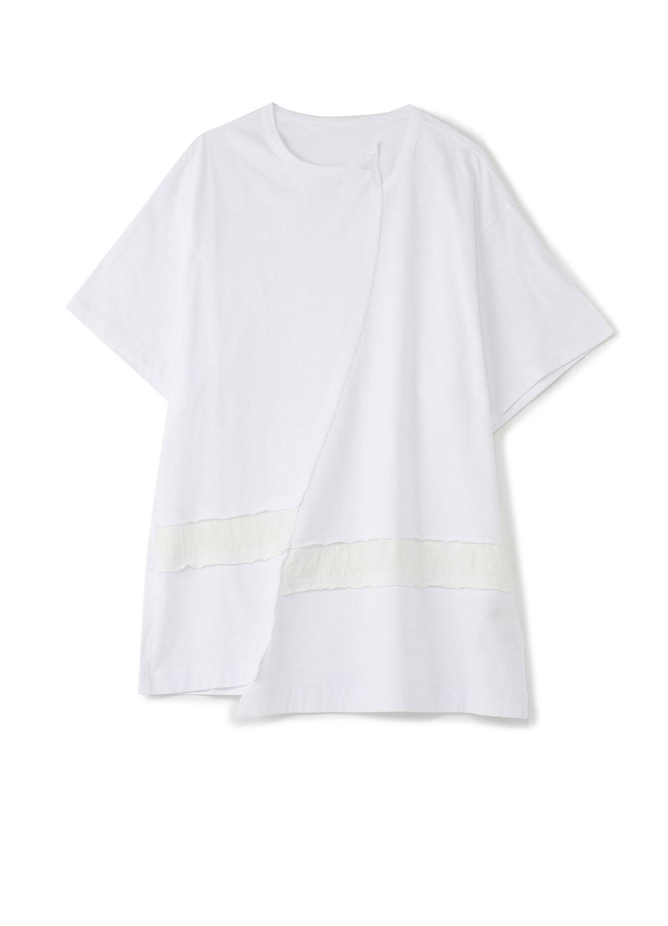 30棉平纹针迹覆盖水平线切割和缝制