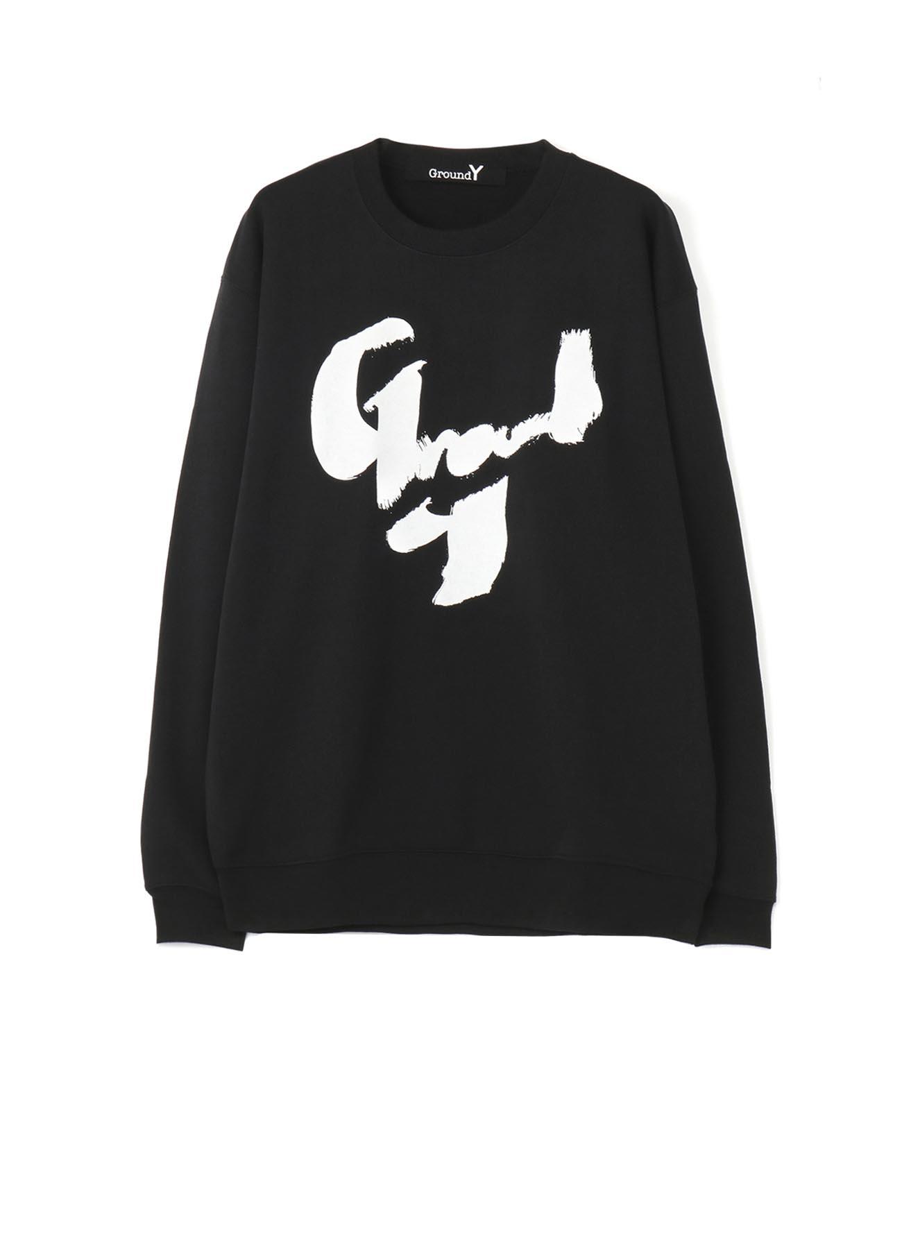 手绘GroundY logo图形运动衫