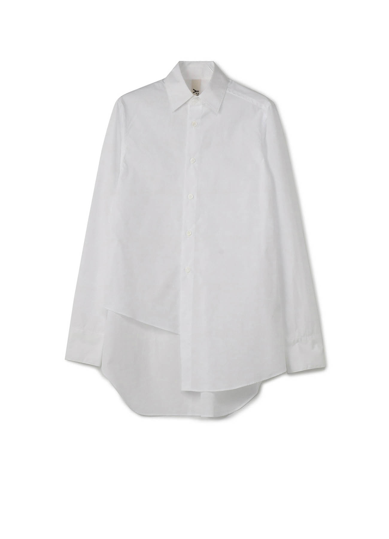 C / 棉府绸 不对称衬衫