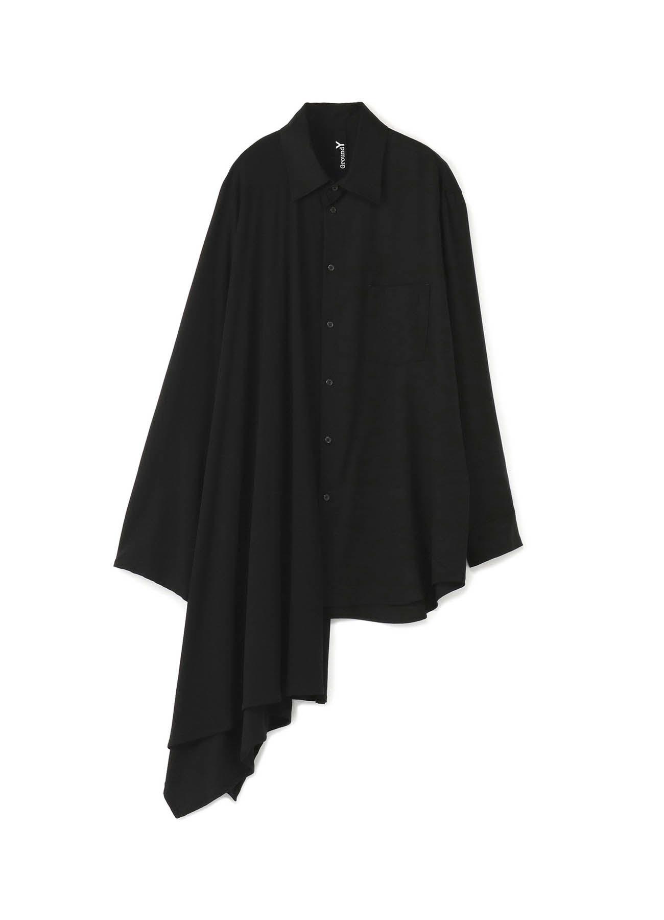 テンセルバーバリー+テクノラマ天竺 マントドッキングシャツ