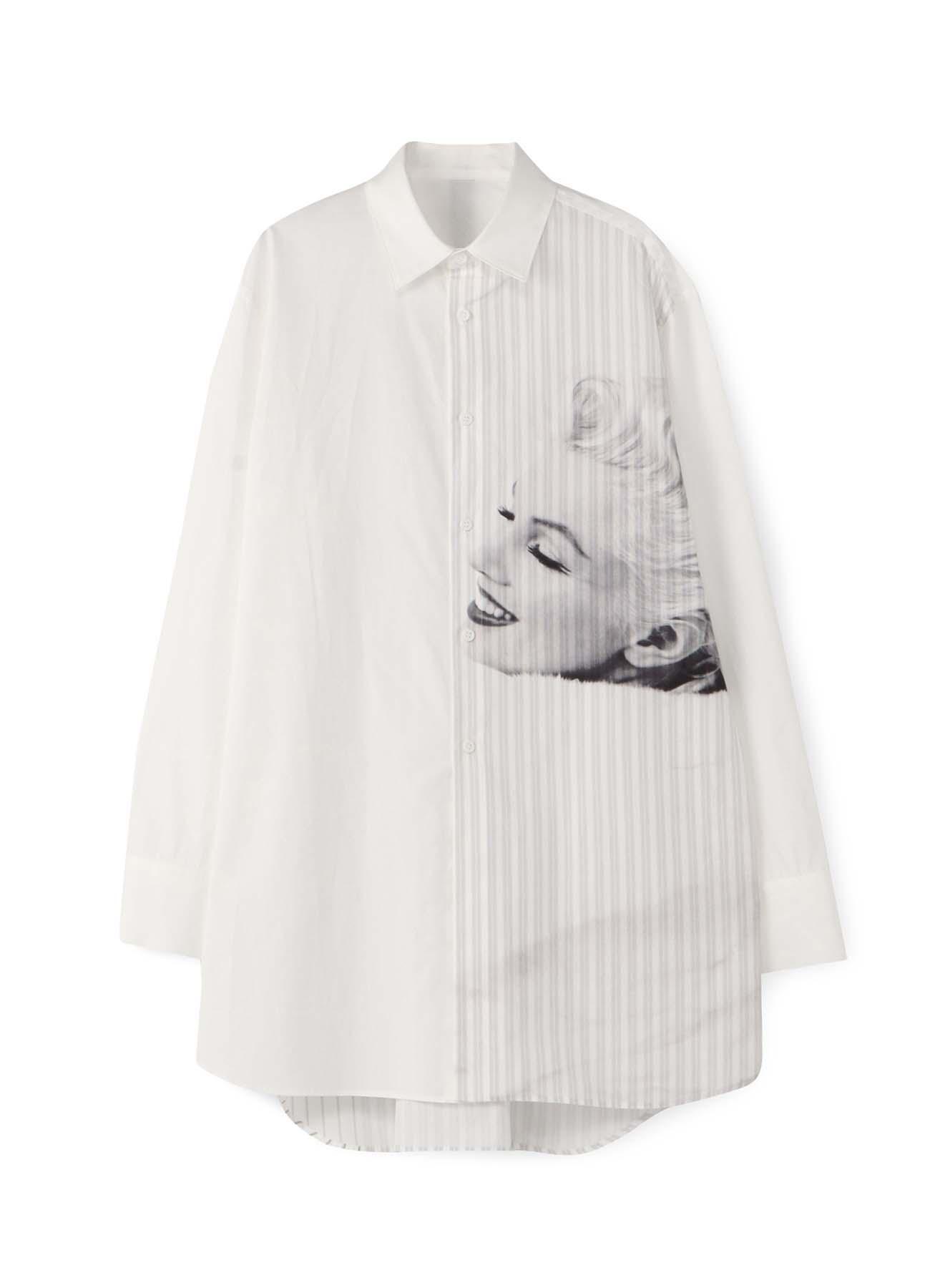 Marilyn Monroe Collaboration ストライプレギュラーシャツ