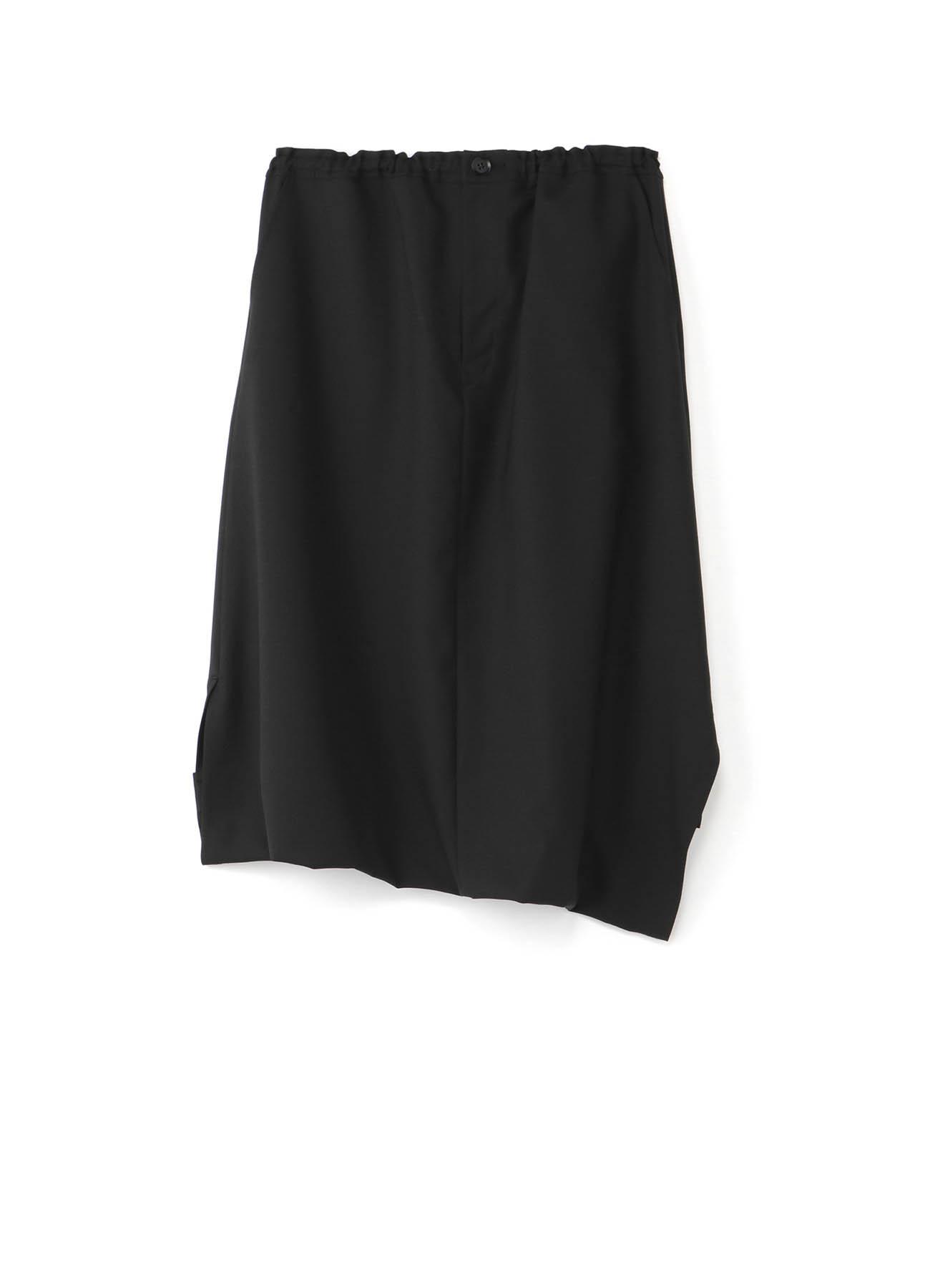 变形裁剪低档裤裙