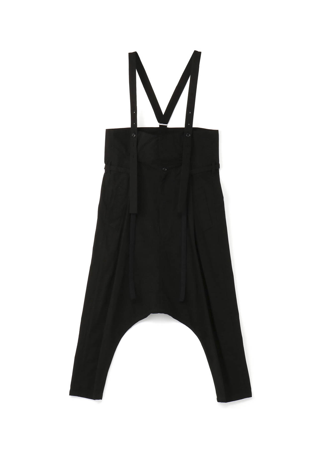 79A棉帆布 高腰飞鼠裤