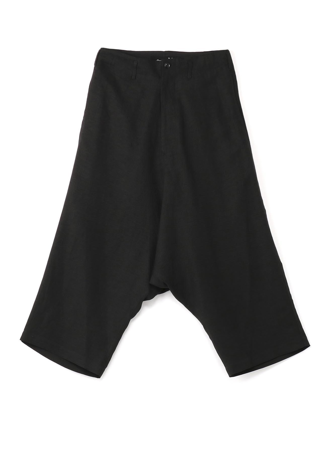 亚麻哈伦裤