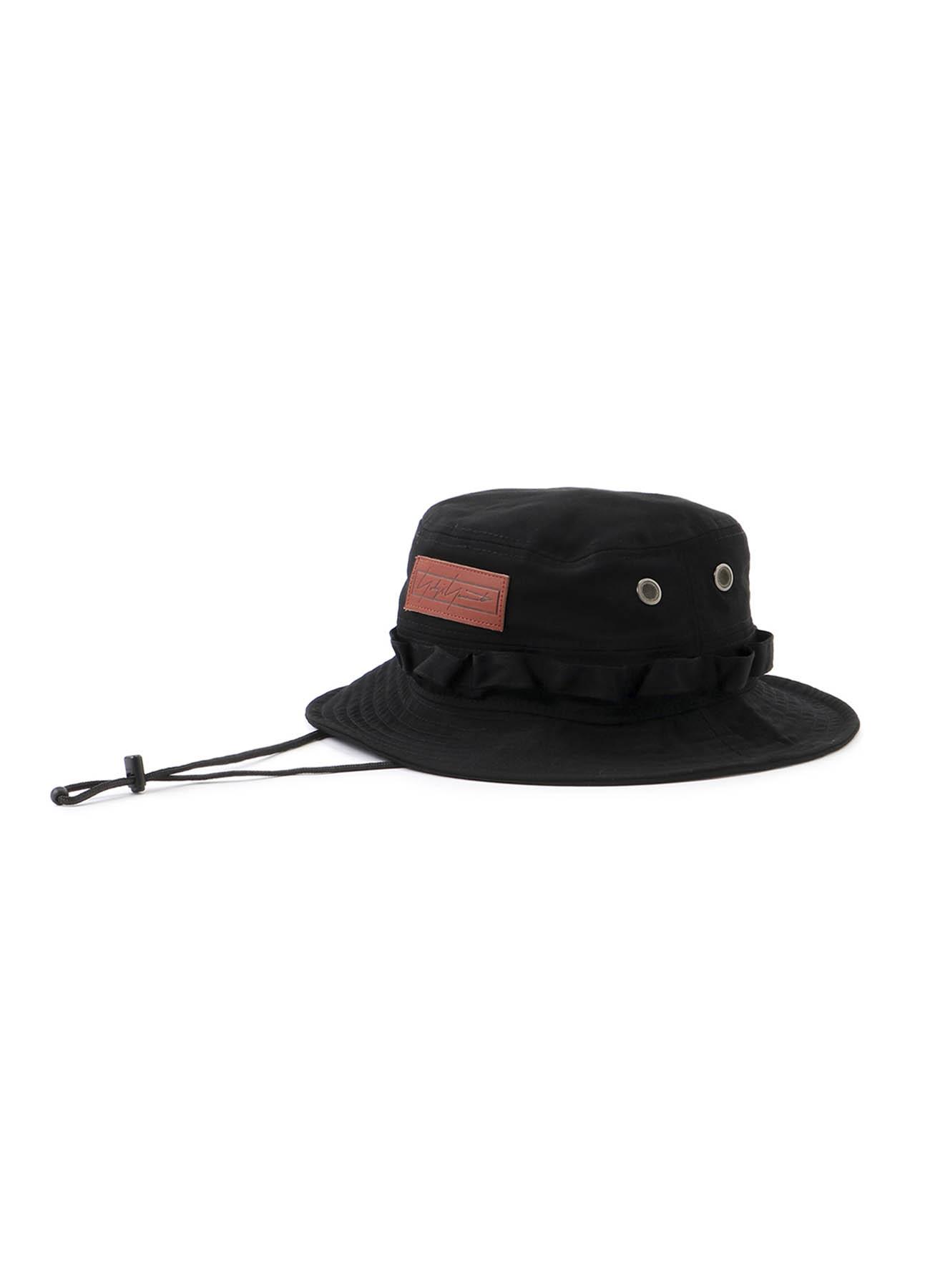 Yohji Yamamoto × New Era ADVENTURE HAT ウールギャバジン