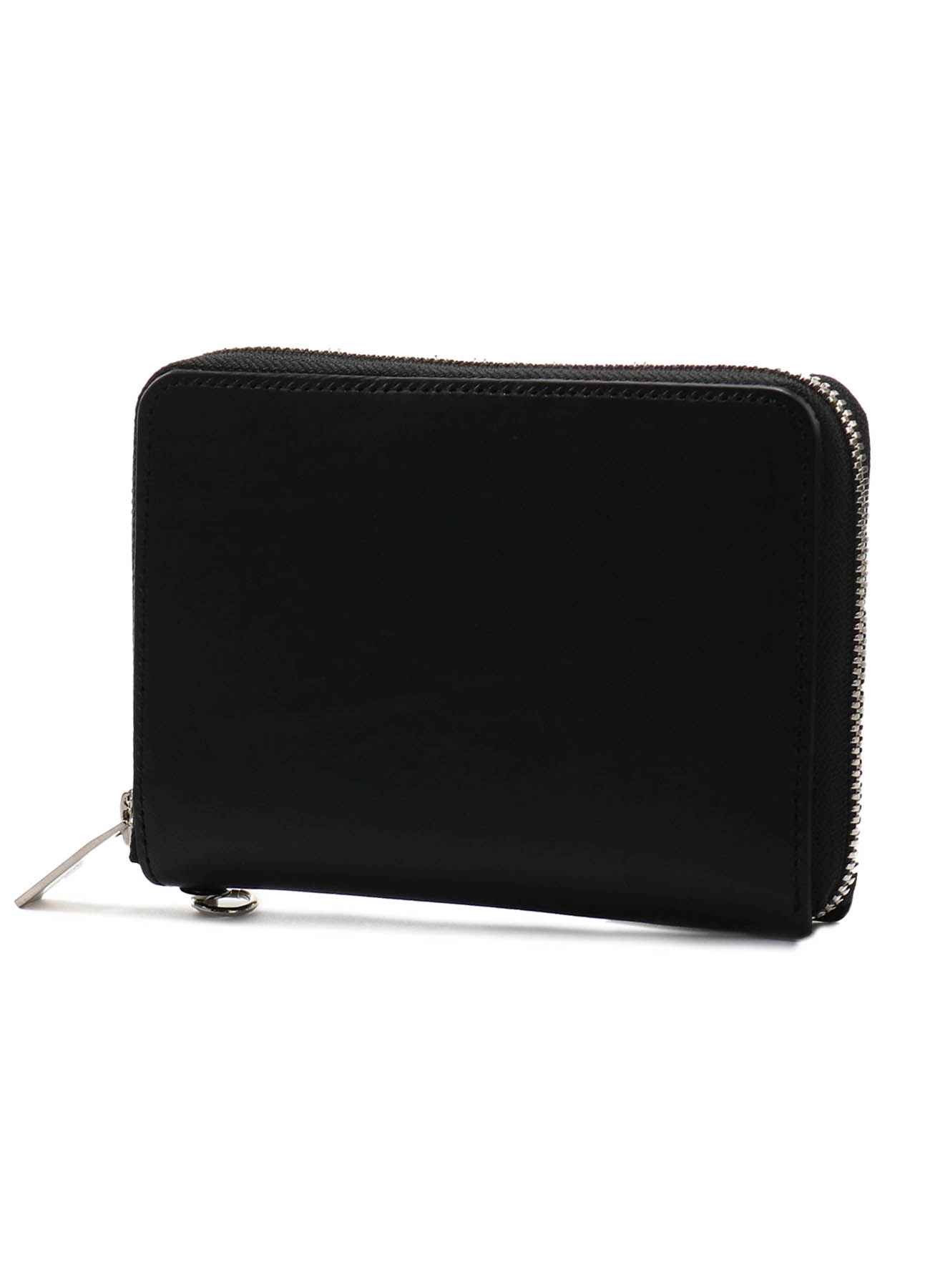 THICK NATURAL LEATHER FASTENER WALLET S