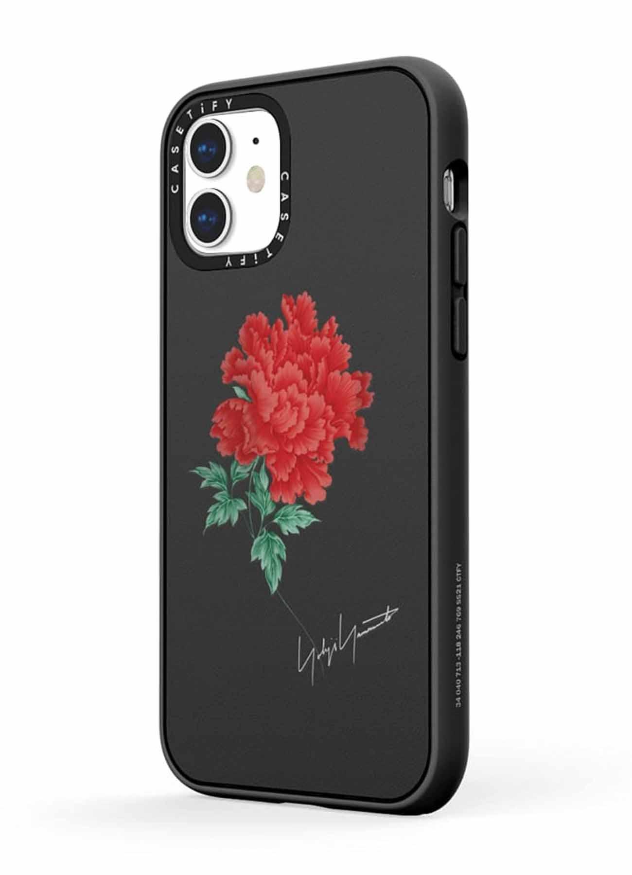 Yohji Yamamoto × CASETiFY One Flower iPhone Impact Case