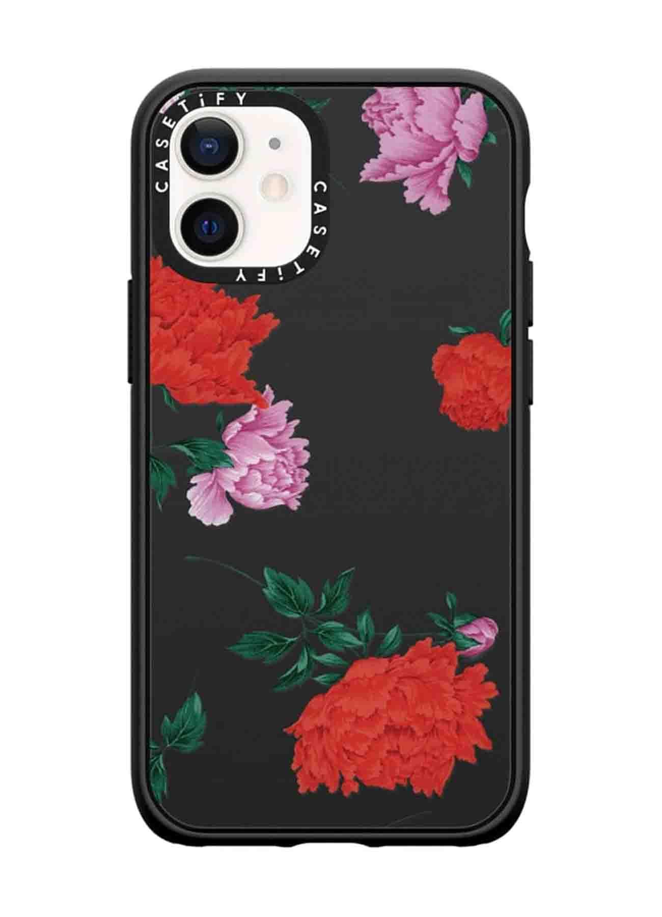 Yohji Yamamoto × CASETiFY Flower Pattern iPhone Impact Case