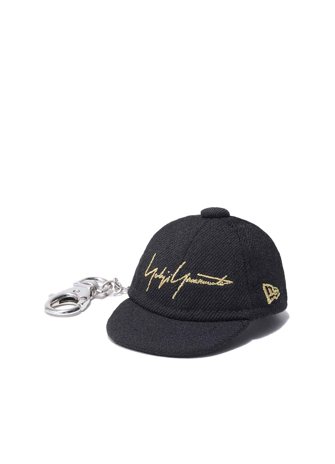 Yohji Yamamoto × New Era METALLIC GOLD SIGNATURE CAP KEY HOLDER