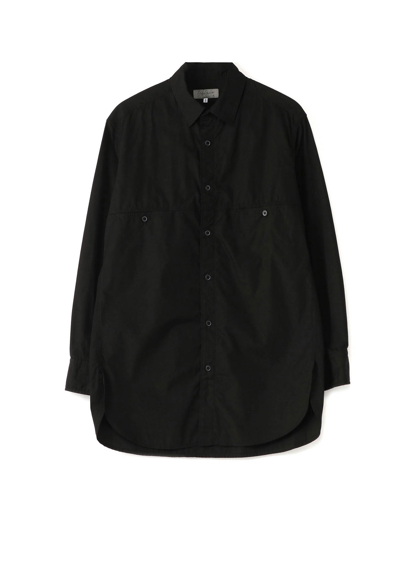 CHAIN STITCH BROAD PATCH CHEST POCKET SHIRT