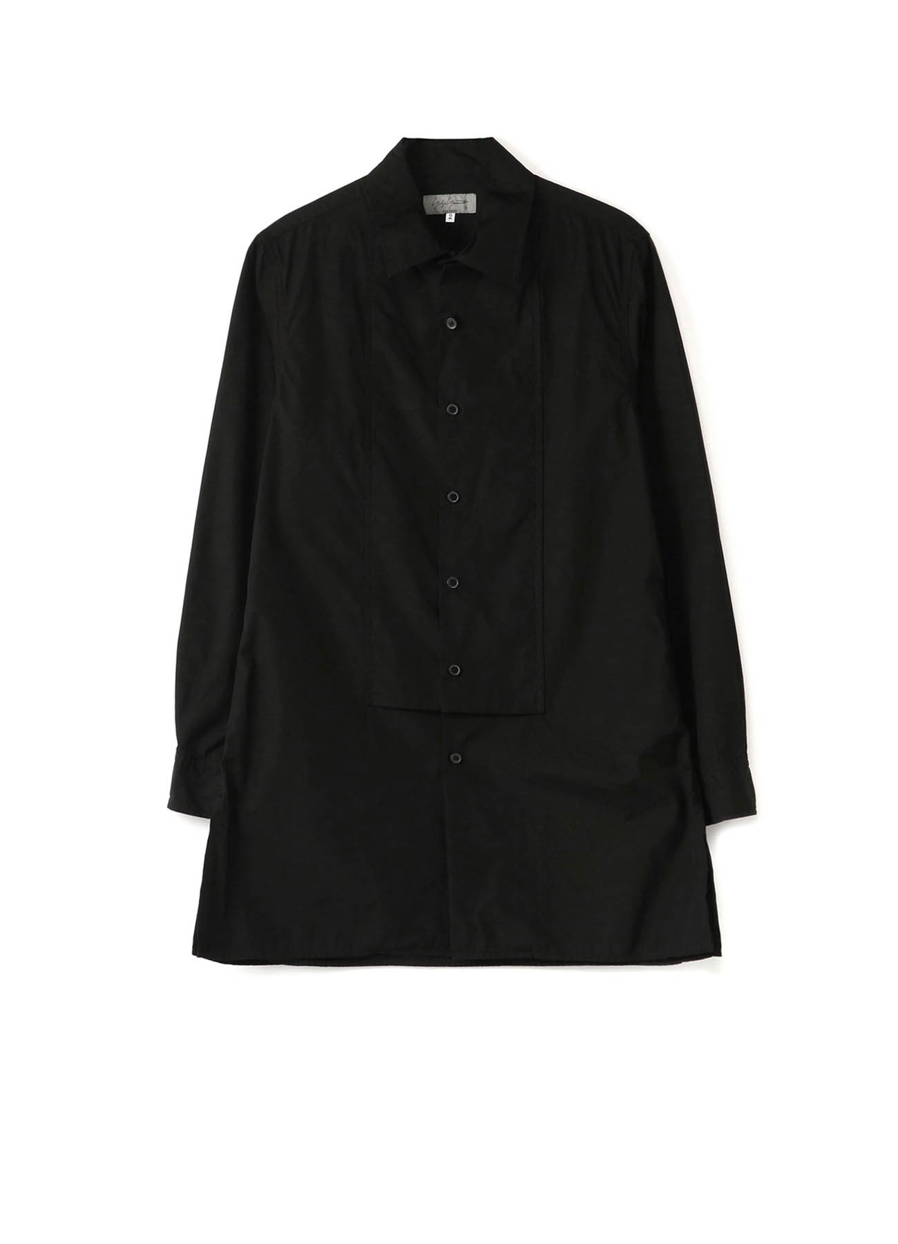 CHAIN STITCH BROAD PATCH SHIRT