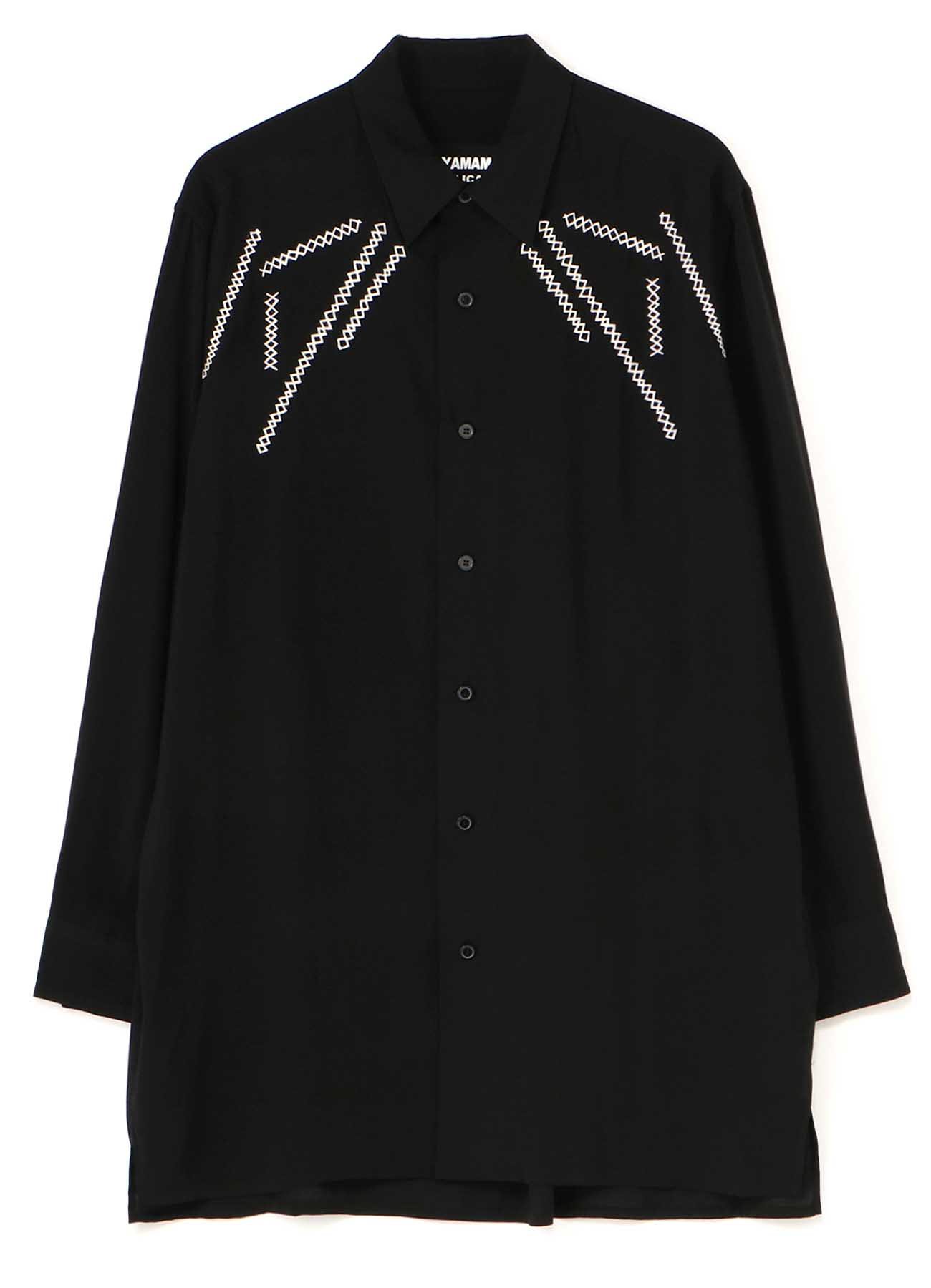 REPLICA 1989-1990 A/W EMBROIDERY CLASSIC BIG BLOUSE
