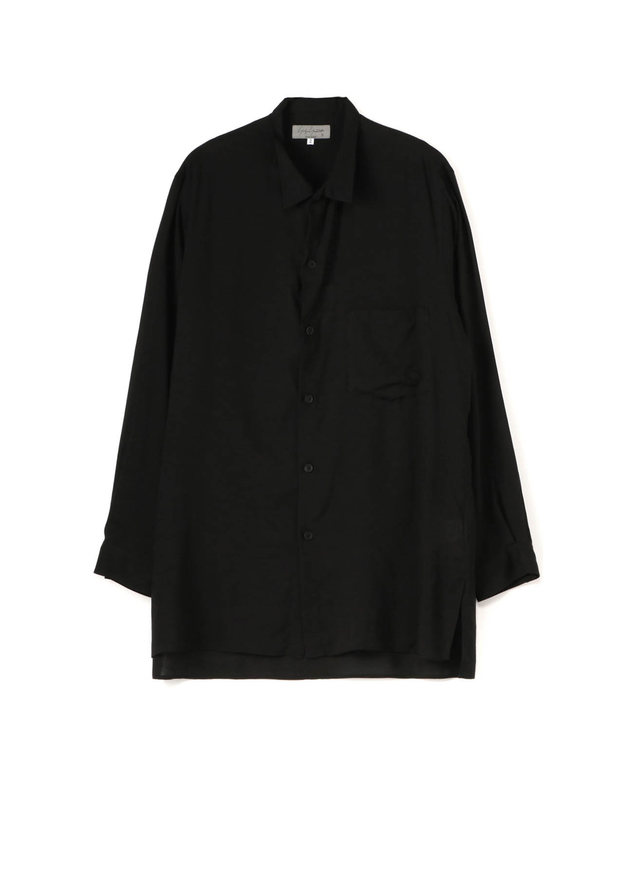 TENCELL LAWN STAND COLLAR BLOUSE