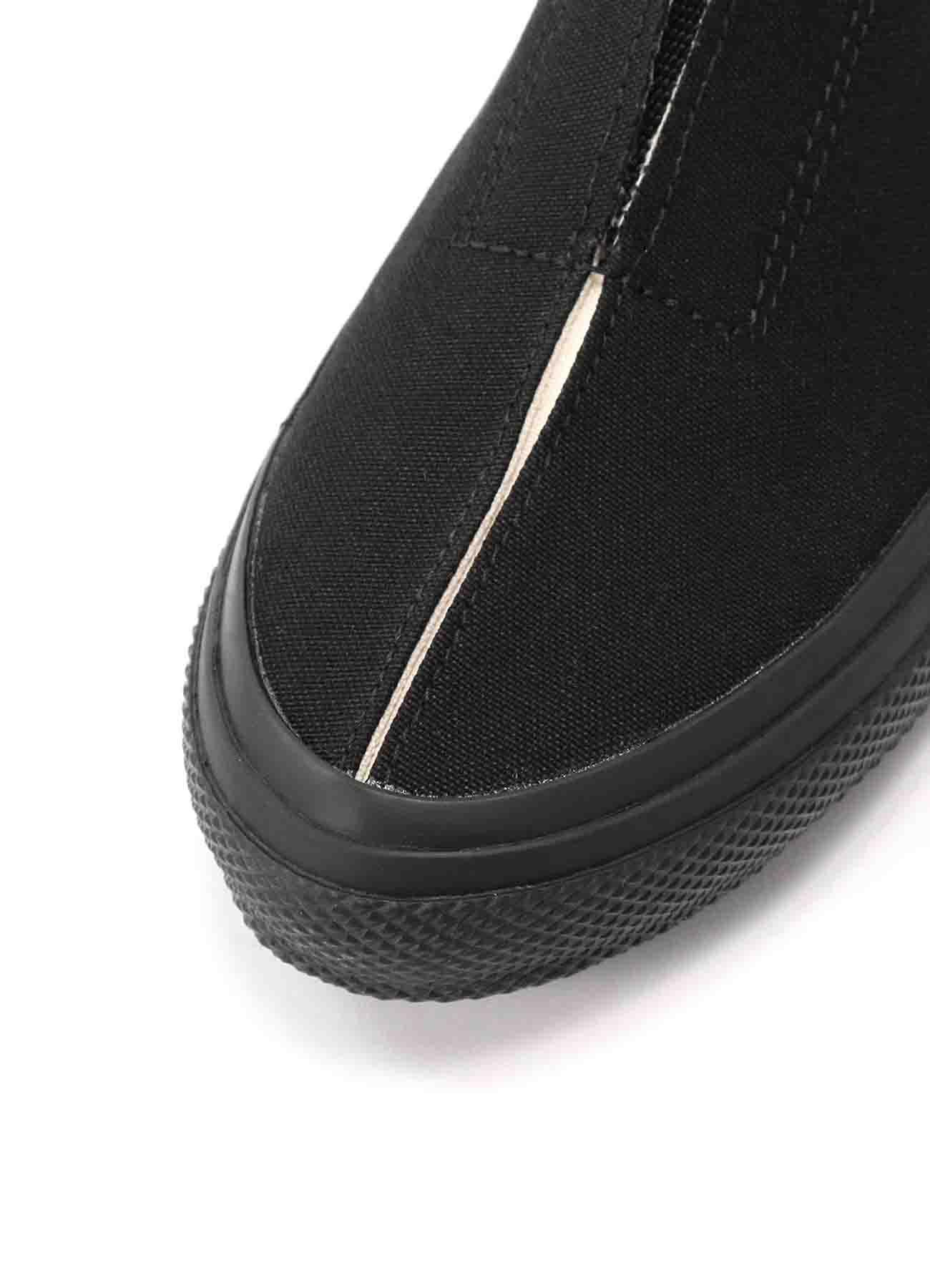 C/CANVAS GORE SLIP-ON SNEAKERS