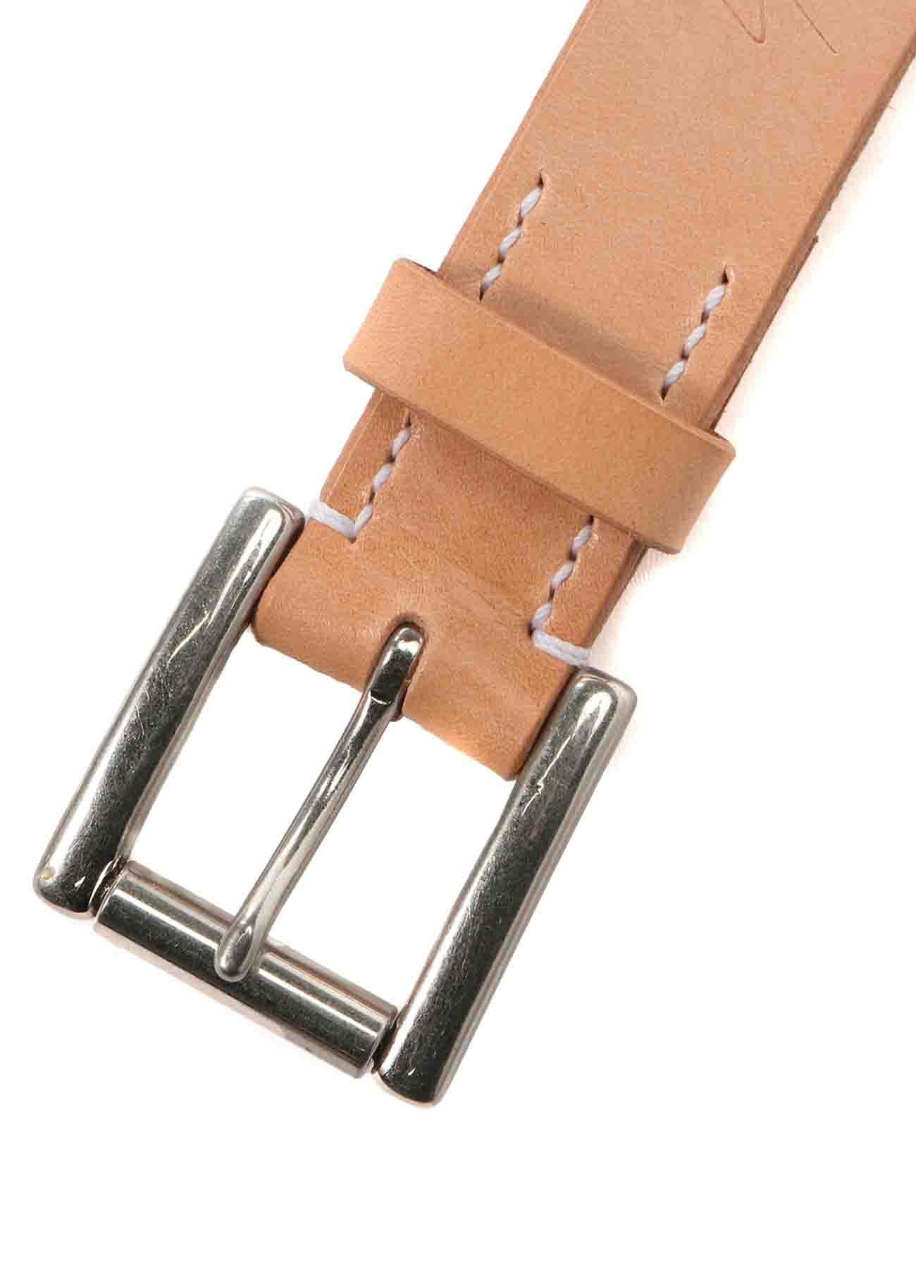 THICK TANNED 30MM PLAIN BELT