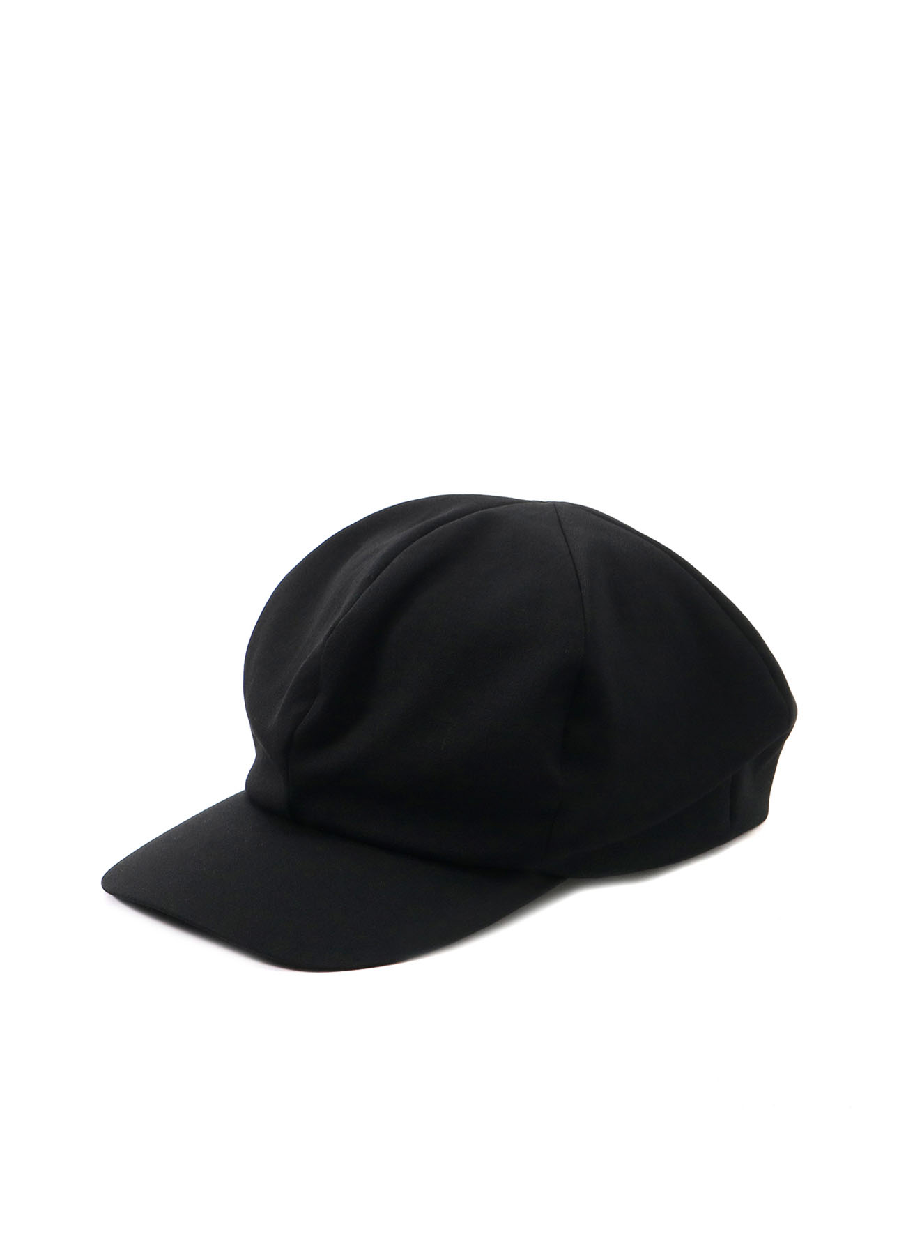 W/GABARDINE LAYERED NEWSBOY CAP